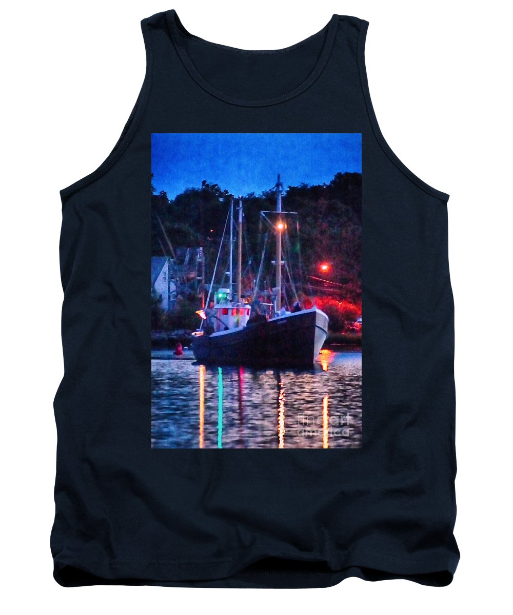 Mystic Tank Top featuring the photograph Out Before Dawn by Joe Geraci