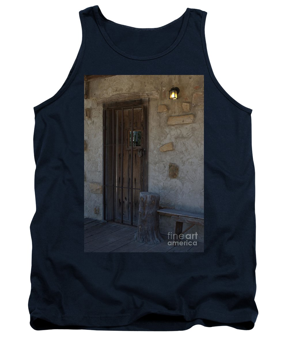 Padlocked Tank Top featuring the photograph Padlocked by Liane Wright