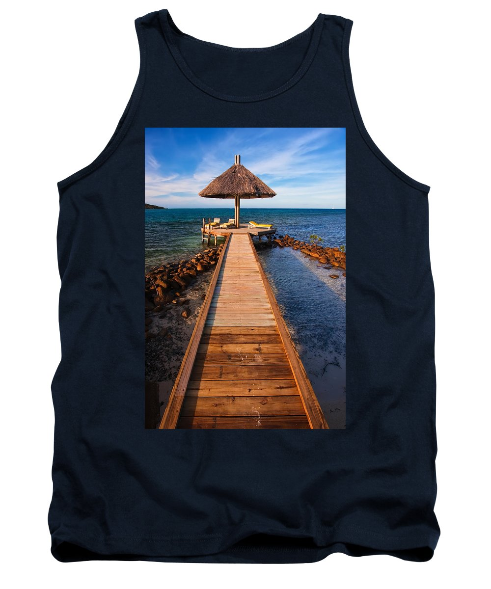 3scape Tank Top featuring the photograph Perfect Vacation by Adam Romanowicz