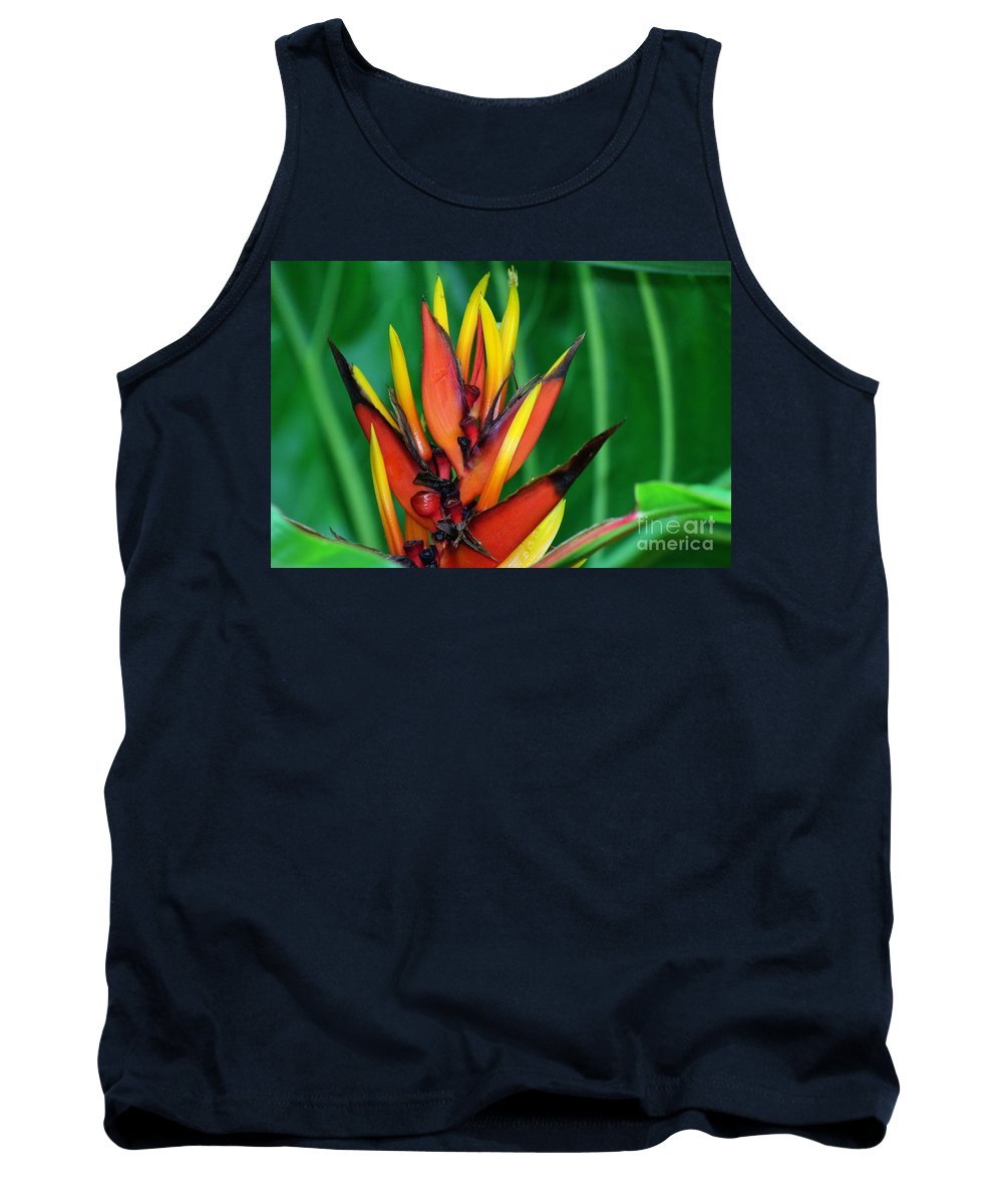 Photography Tank Top featuring the photograph Petals Up by Jackie Farnsworth