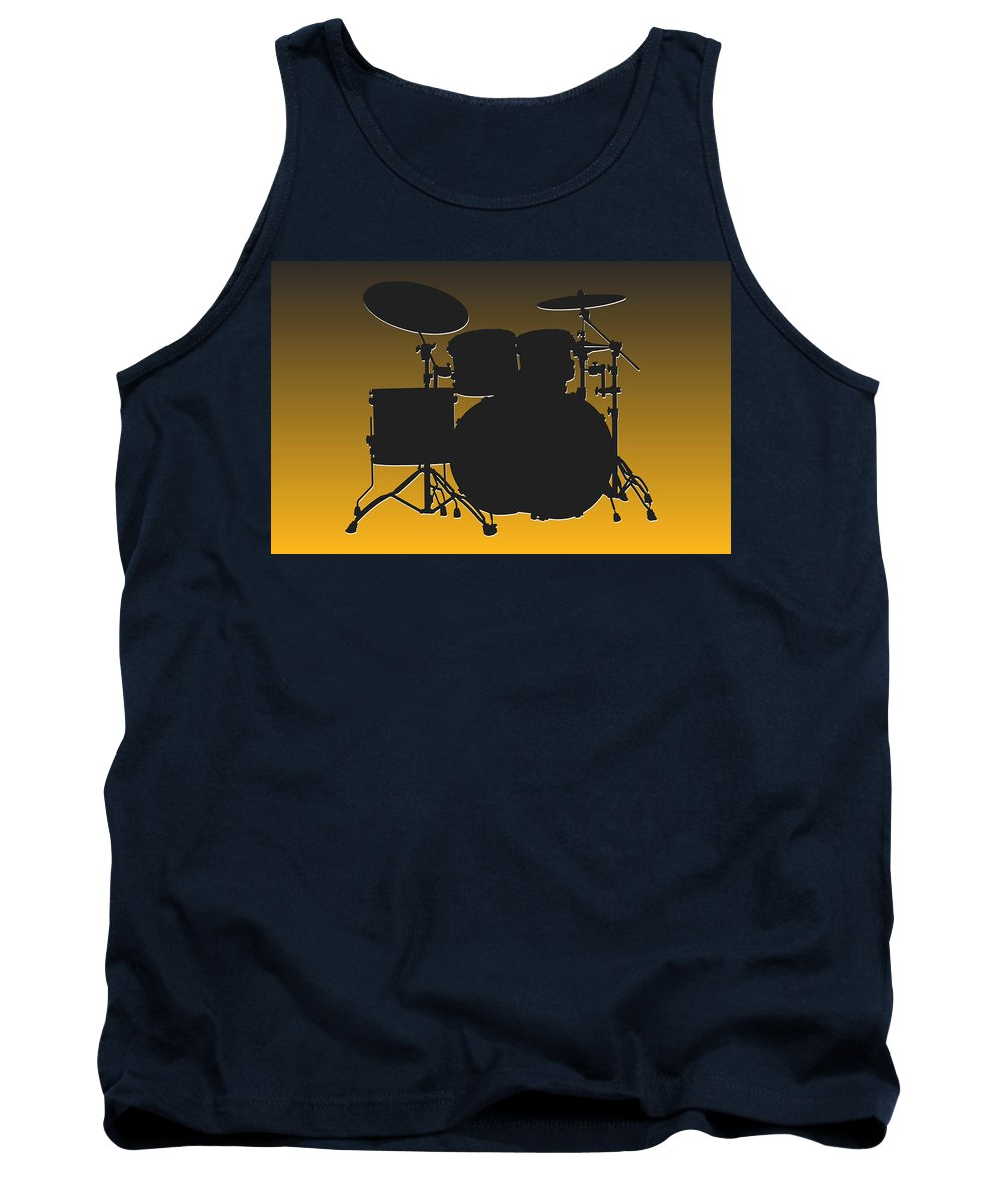 Steelers Tank Top featuring the photograph Pittsburgh Steelers Drum Set by Joe Hamilton