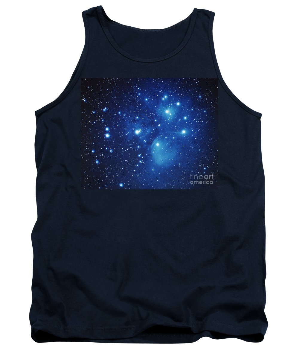 M45 Tank Top featuring the photograph Pleiades Star Cluster by Jason Ware