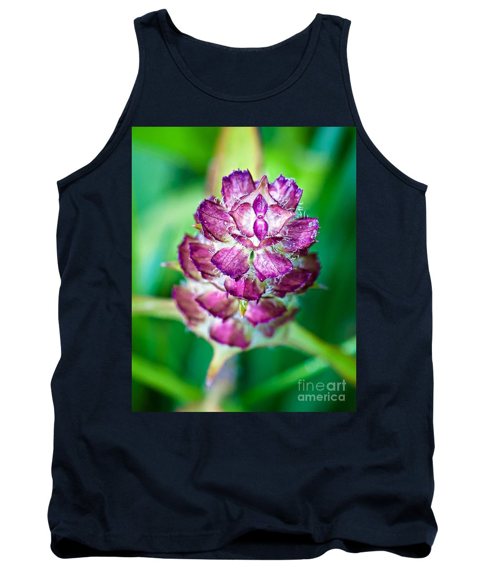 Wildflowers Tank Top featuring the photograph Purple Beauty by Gwen Gibson