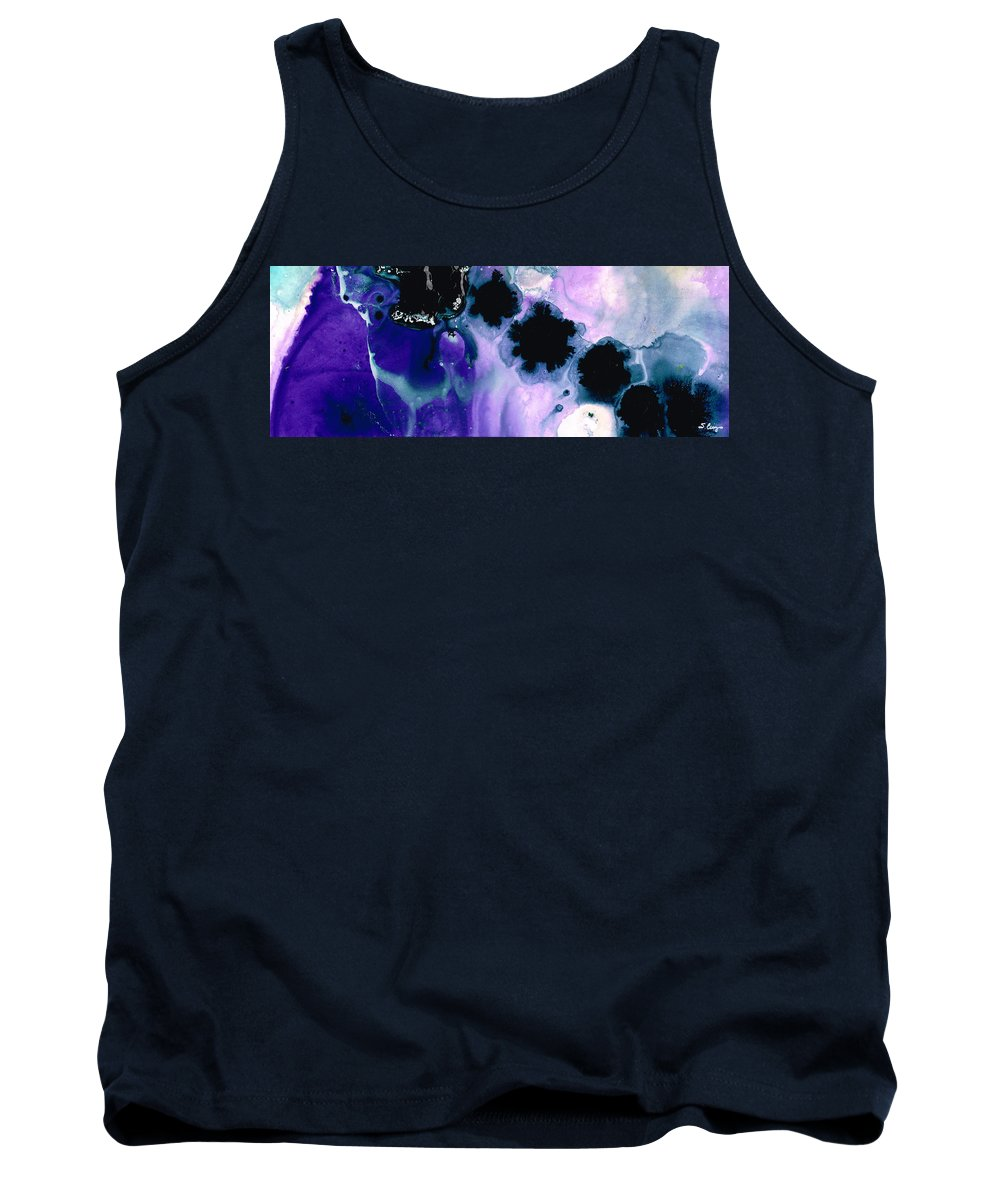 Art Tank Top featuring the painting Raven's Dream by Sharon Cummings