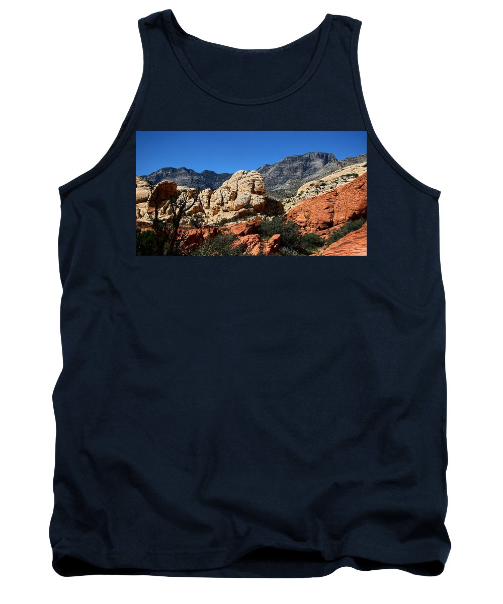 Red Rock Canyon Tank Top featuring the photograph Red Rock Canyon 2 by Chris Brannen