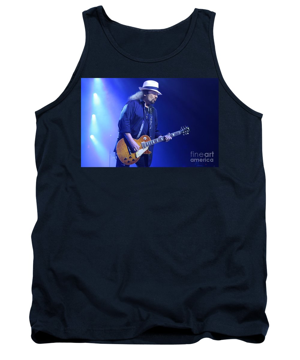 Lynyrd Skynyrd Tank Top featuring the photograph Skynyrd-gary-7399 by Gary Gingrich Galleries