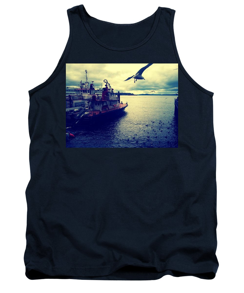 Water Tank Top featuring the photograph Soar by Barbara Christensen