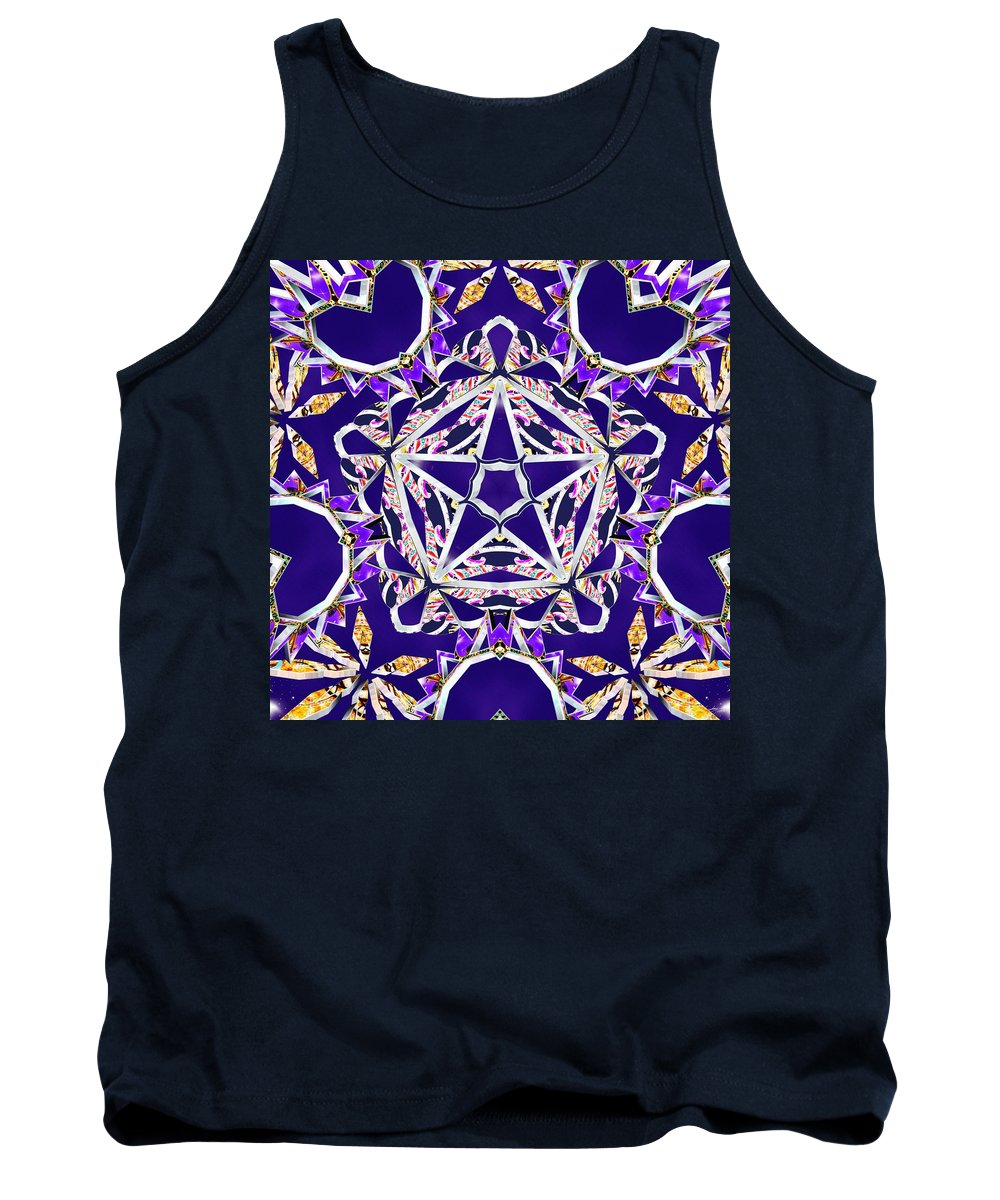 Stardriver Tank Top featuring the digital art Stardriver by Derek Gedney