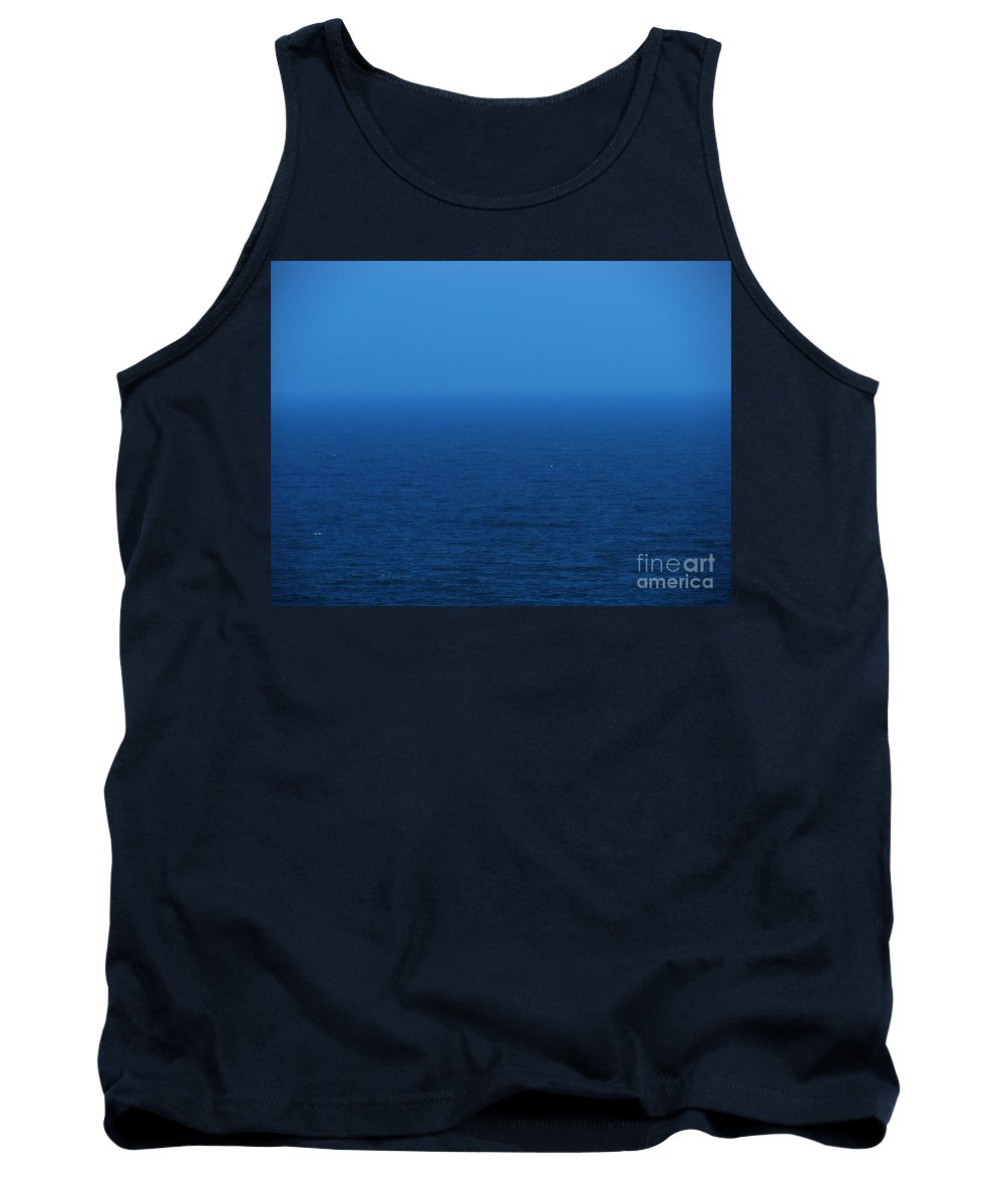 Blue Tank Top featuring the photograph Stepping Into A Dream by Amanda Barcon