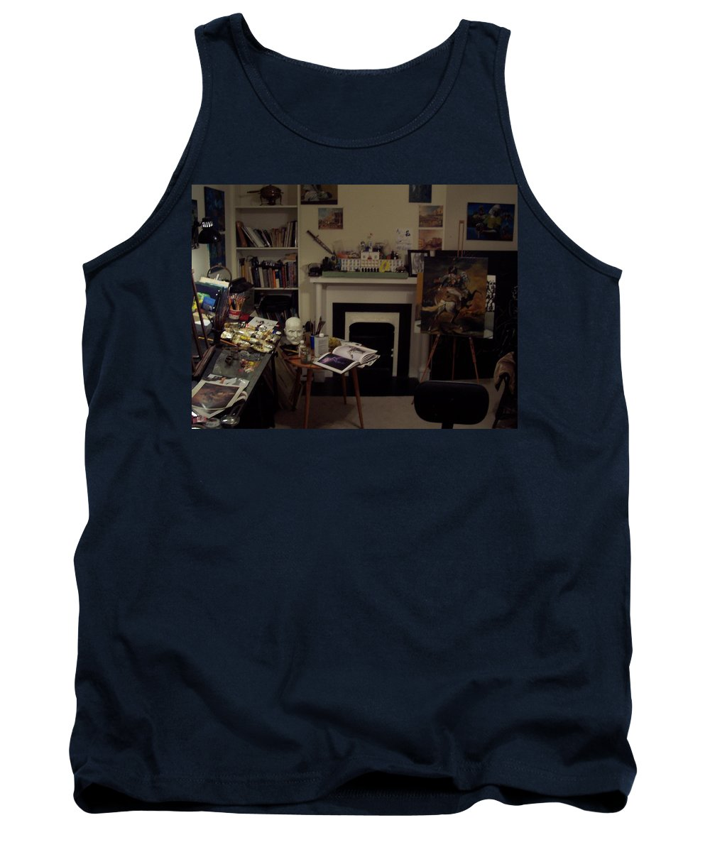 Tank Top featuring the photograph Savannah 9studio by Jude Darrien