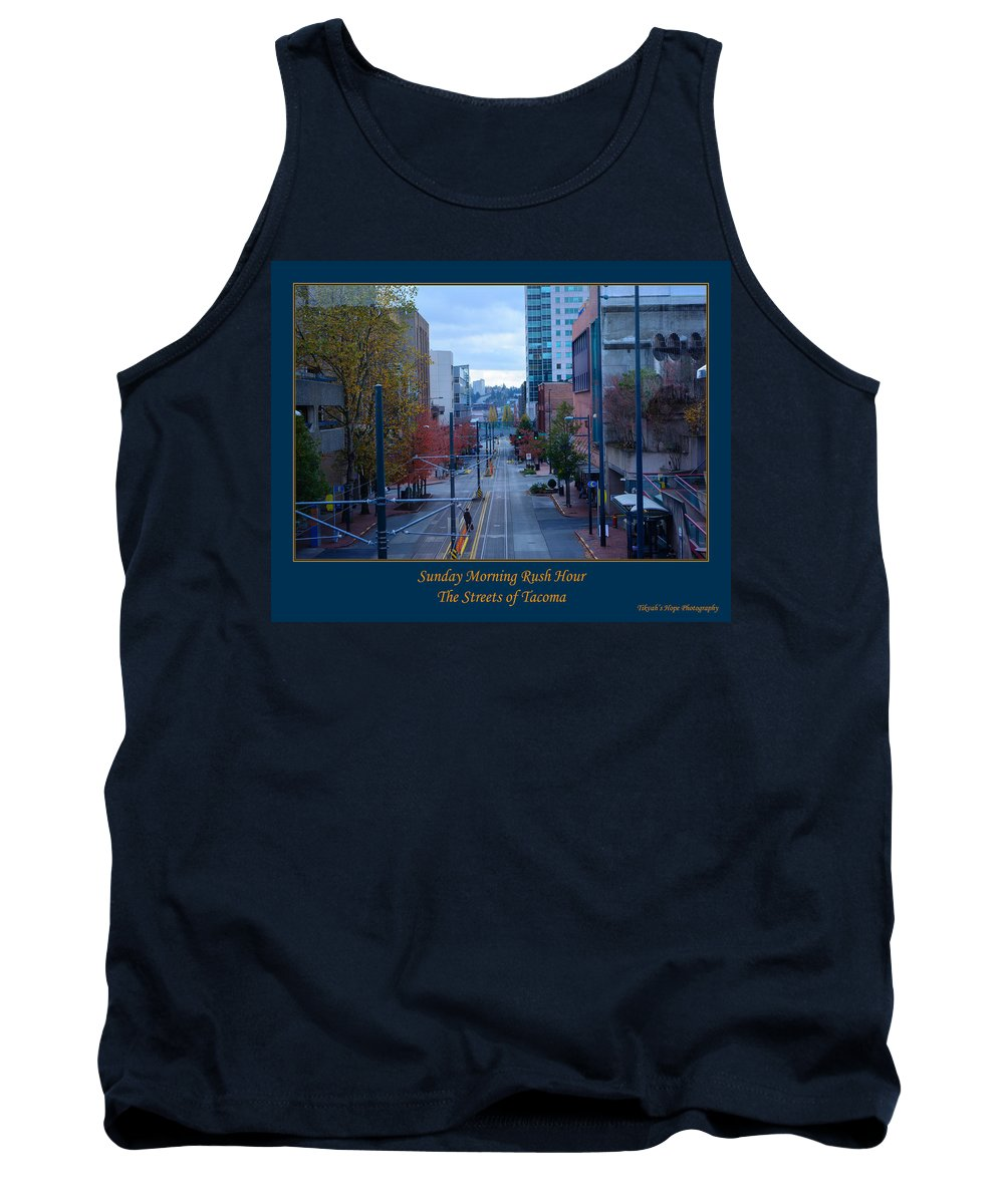 Tacoma Tank Top featuring the photograph Sunday Morning Rush Hour by Tikvah's Hope