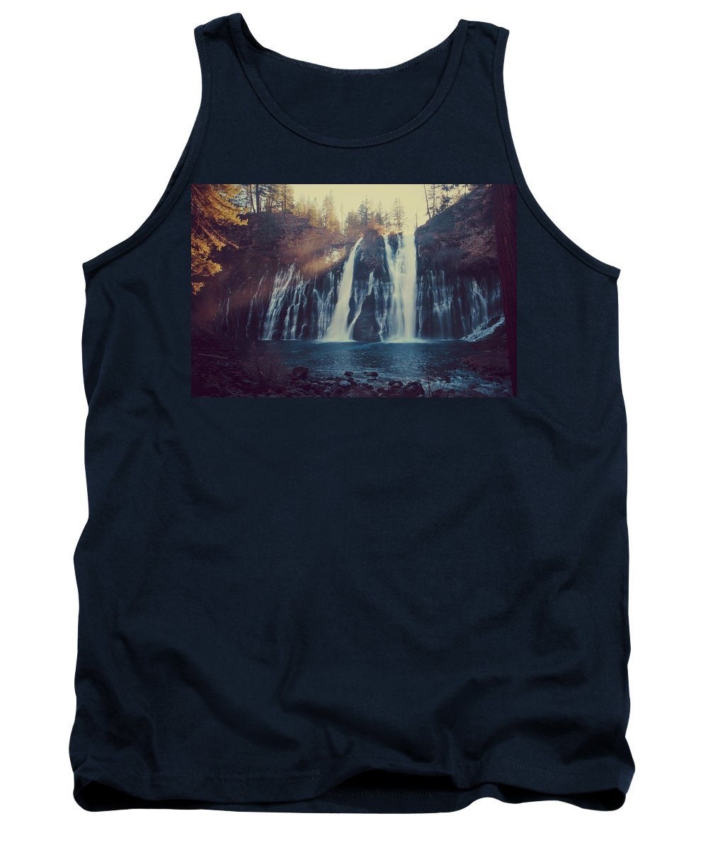 Burney Falls State Park Tank Top featuring the photograph Sweet Memories by Laurie Search