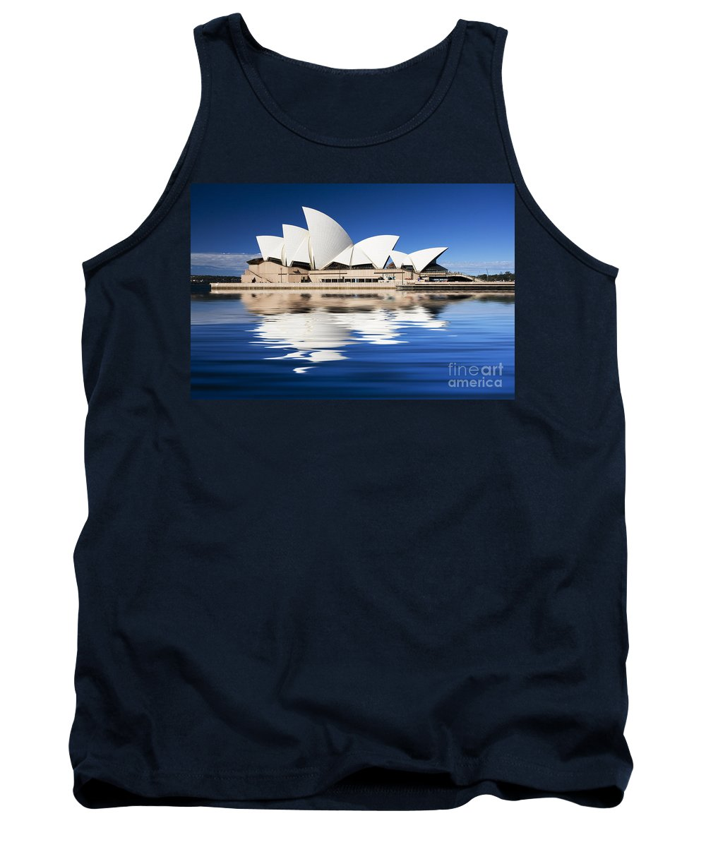Sydney Opera House Tank Top featuring the photograph Sydney Icon by Sheila Smart Fine Art Photography