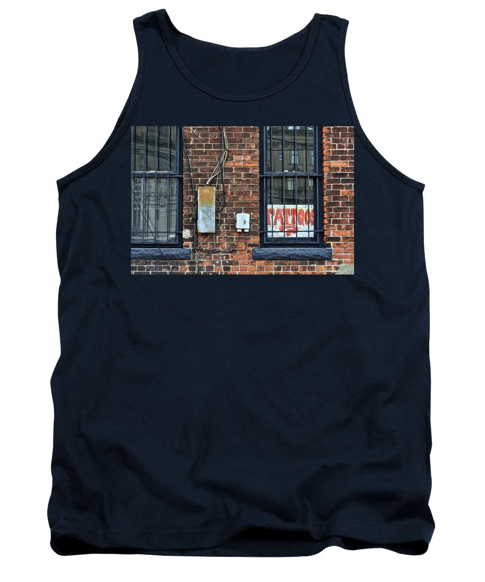 Tattoos Tank Top featuring the photograph Tattoos by Frozen in Time Fine Art Photography