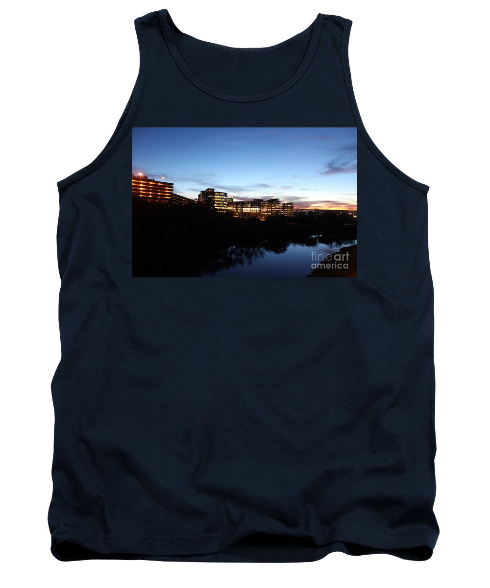 Landscape Tank Top featuring the photograph Tcc Trinity River Campus by Earl Johnson