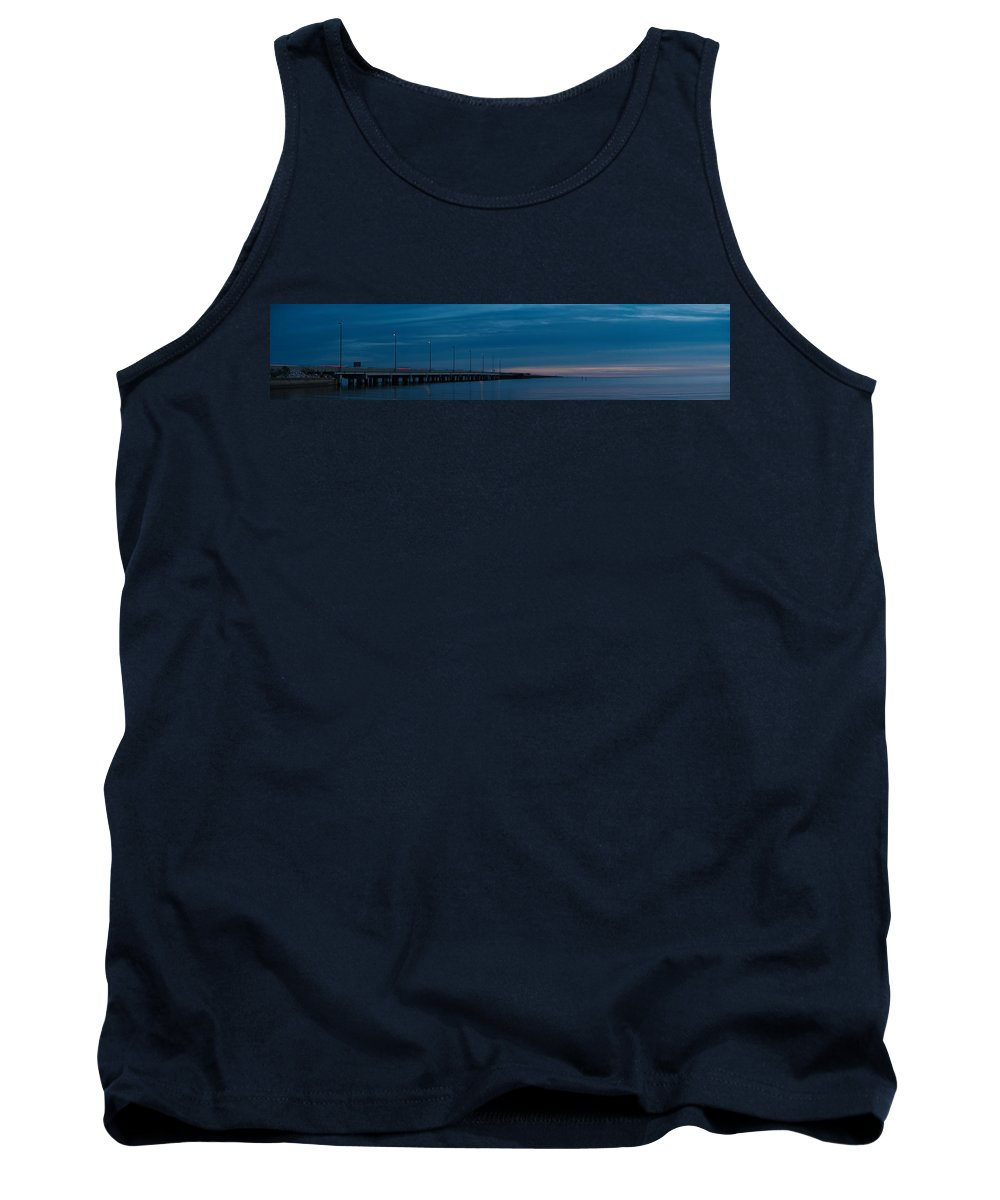 Panoramas Tank Top featuring the photograph The Causeway Bridge by Anthony Walker Sr