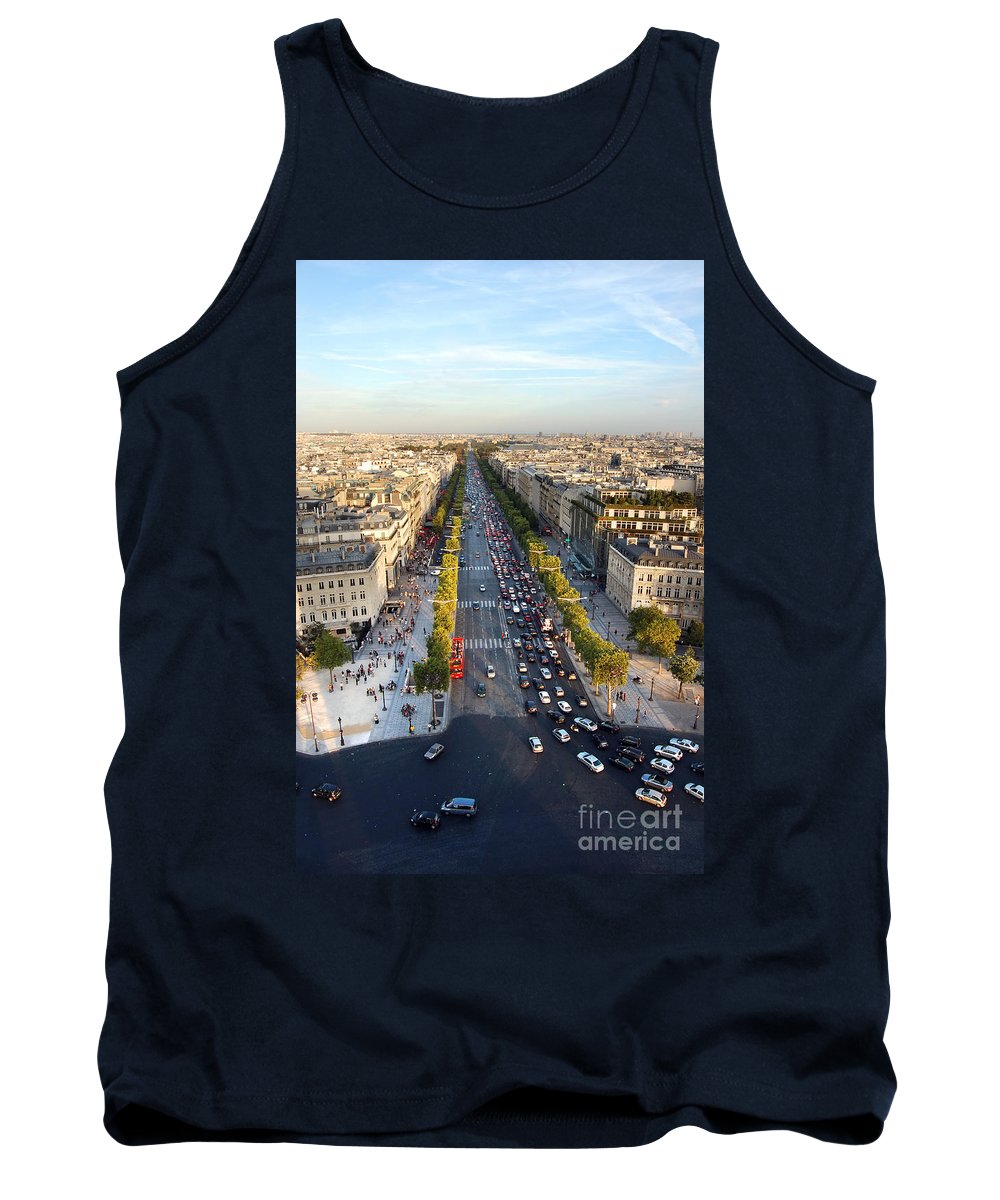 Arc Tank Top featuring the photograph The Elysian Fields by Michal Bednarek