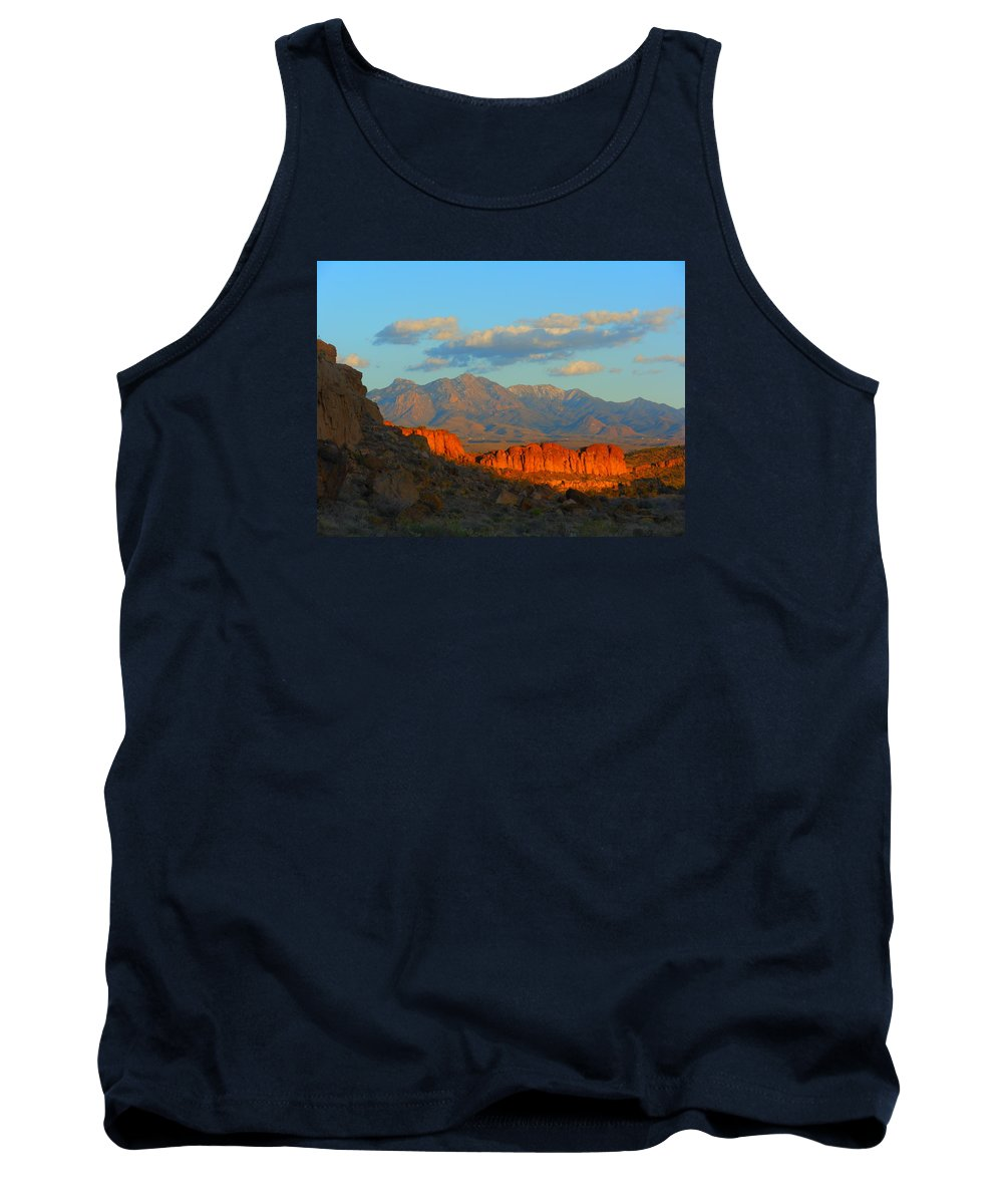Landscape Tank Top featuring the photograph The Ever Changing Beauty Of Monolith Gardens by James Welch