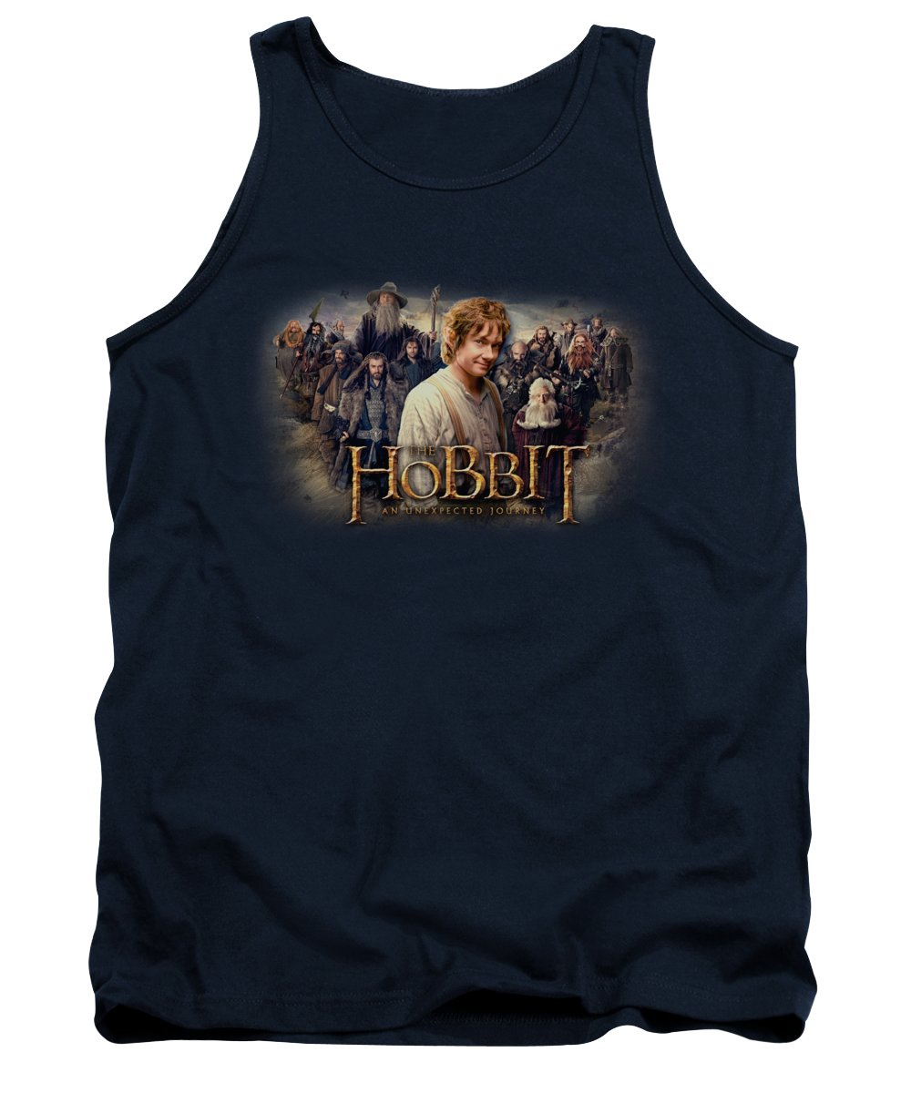 The Hobbit Tank Top featuring the digital art The Hobbit - Hobbit Rally by Brand A