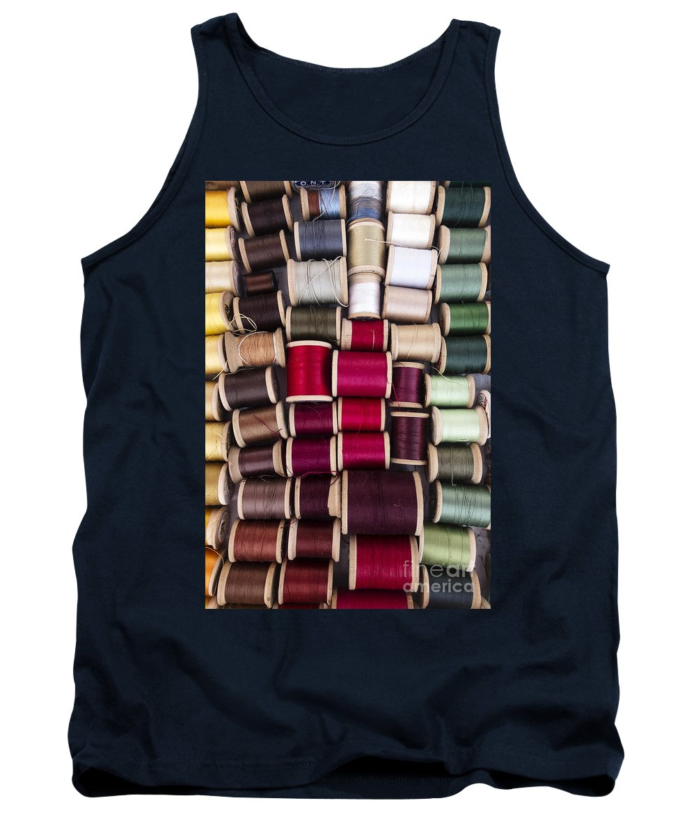 Thread Tank Top featuring the photograph Threads I by Margie Hurwich