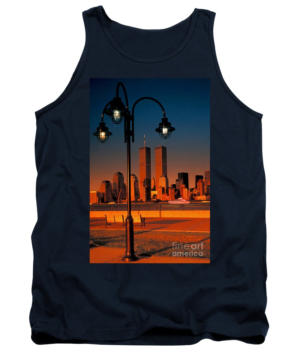 New York City Tank Top featuring the photograph Towers Framed by Bruce Bain