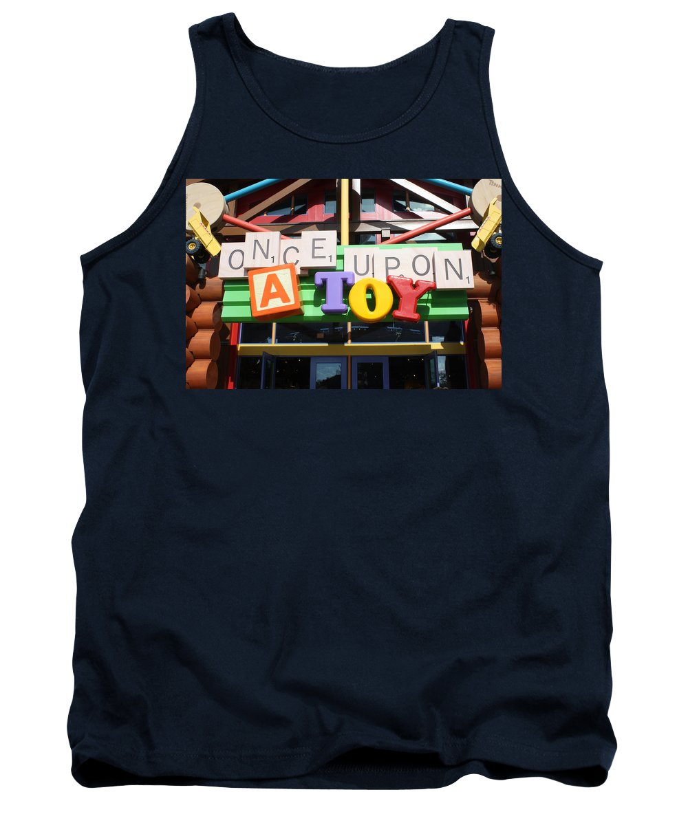 Disney World Tank Top featuring the photograph Toy Heaven by David Nicholls