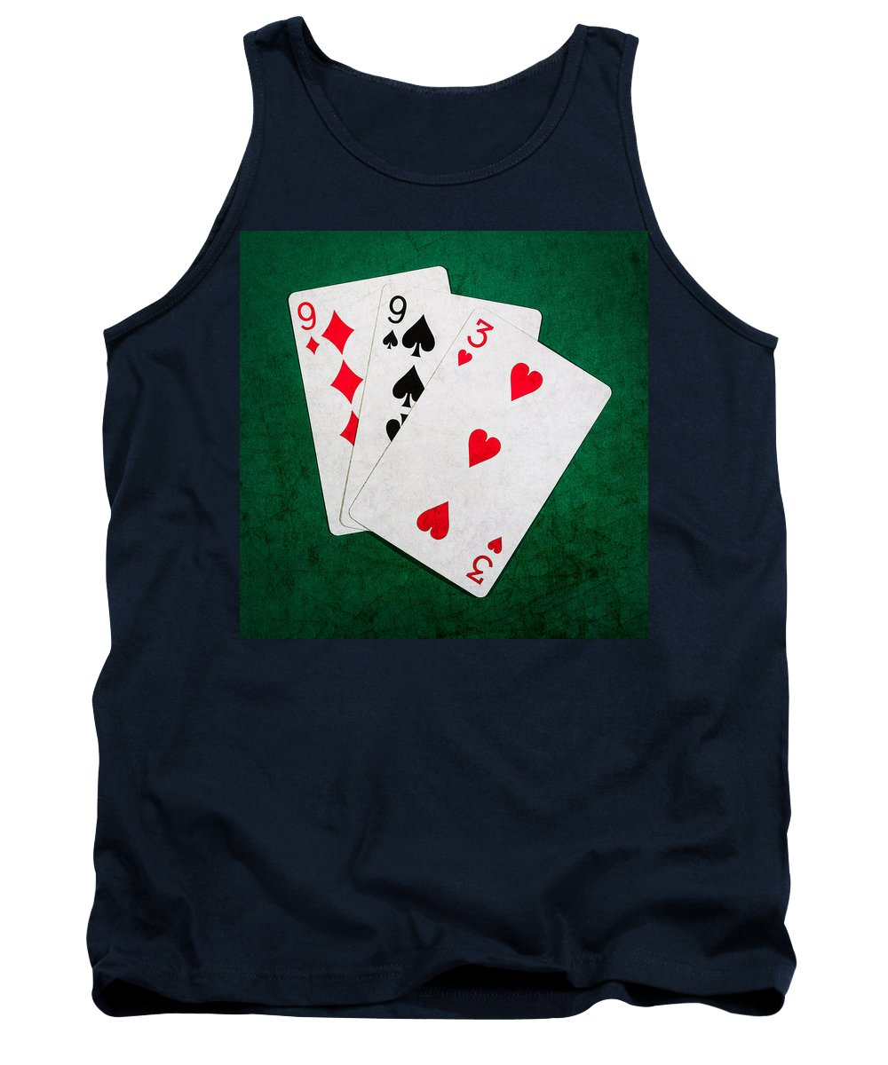 Blackjack Tank Top featuring the photograph Twenty One 10 - Square by Alexander Senin