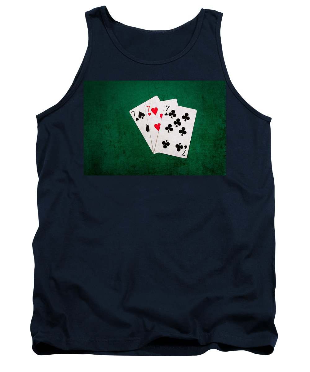 Blackjack Tank Top featuring the photograph Twenty One 12 by Alexander Senin