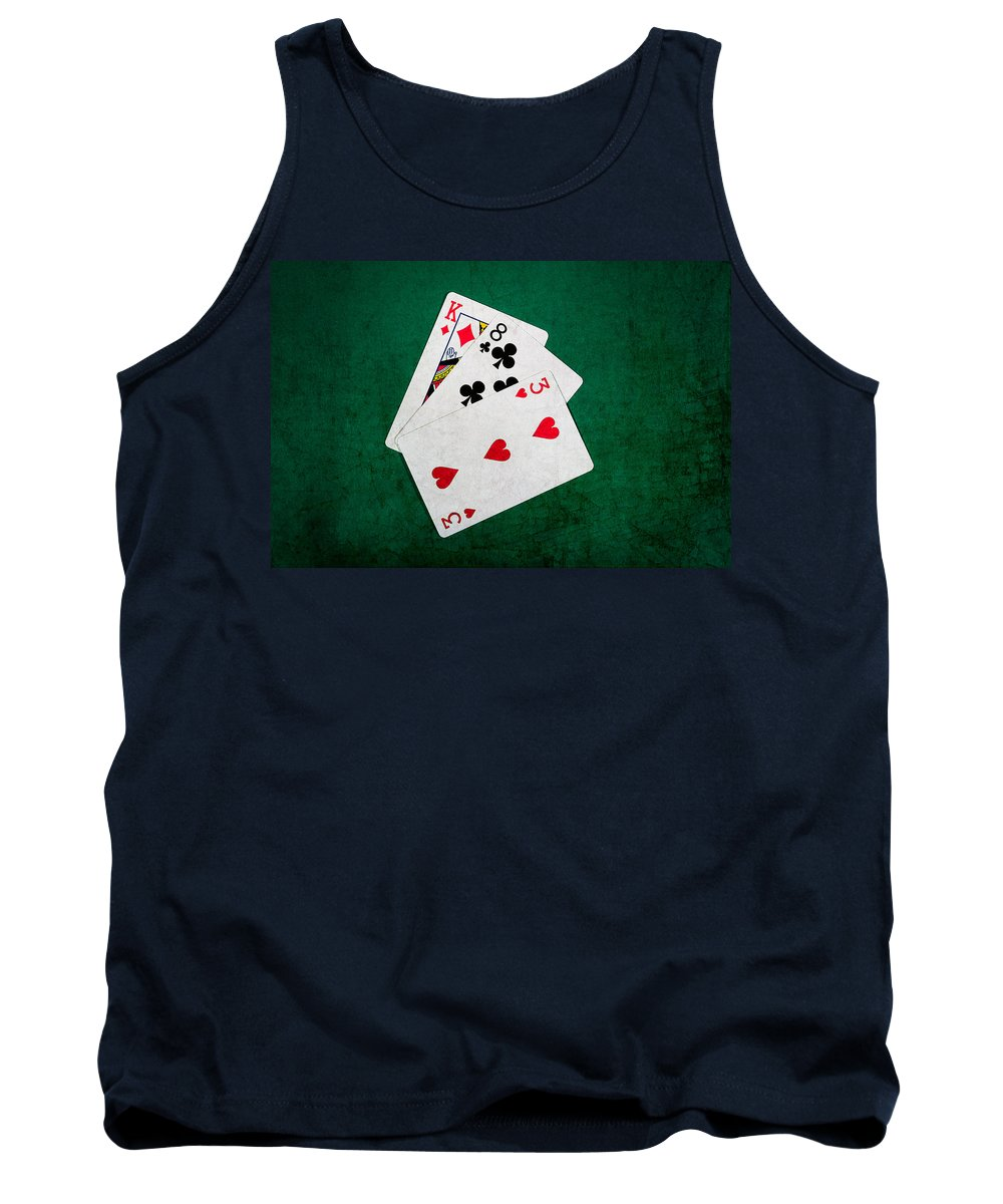 Blackjack Tank Top featuring the photograph Twenty One 6 by Alexander Senin