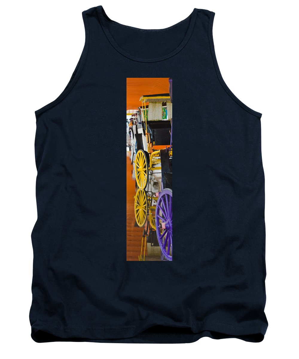Bahamas Tank Top featuring the photograph Wheel Colors by Ed Gleichman