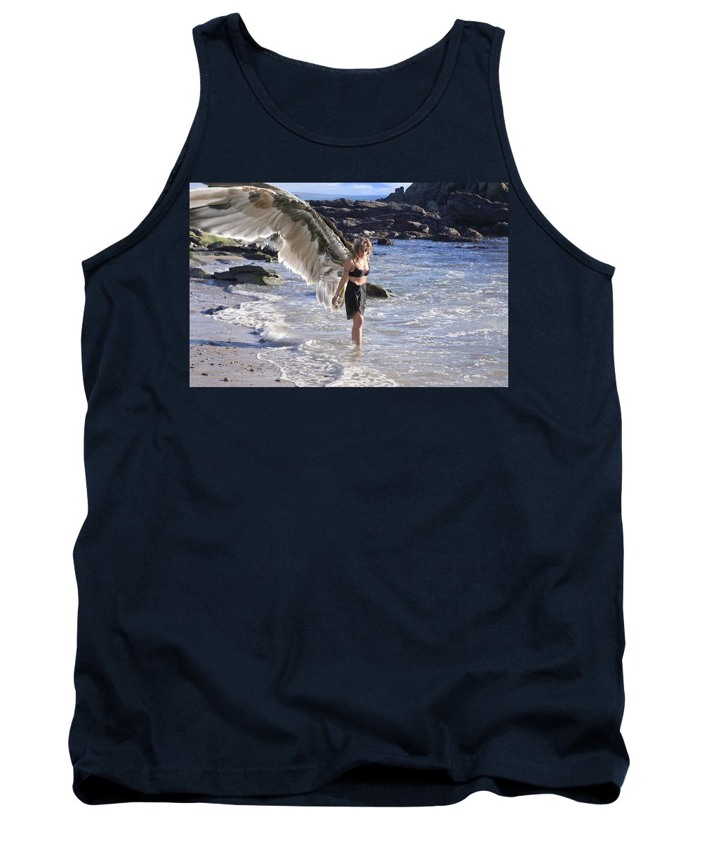 Angel Tank Top featuring the photograph When You Were Born I Made You Smile by Acropolis De Versailles
