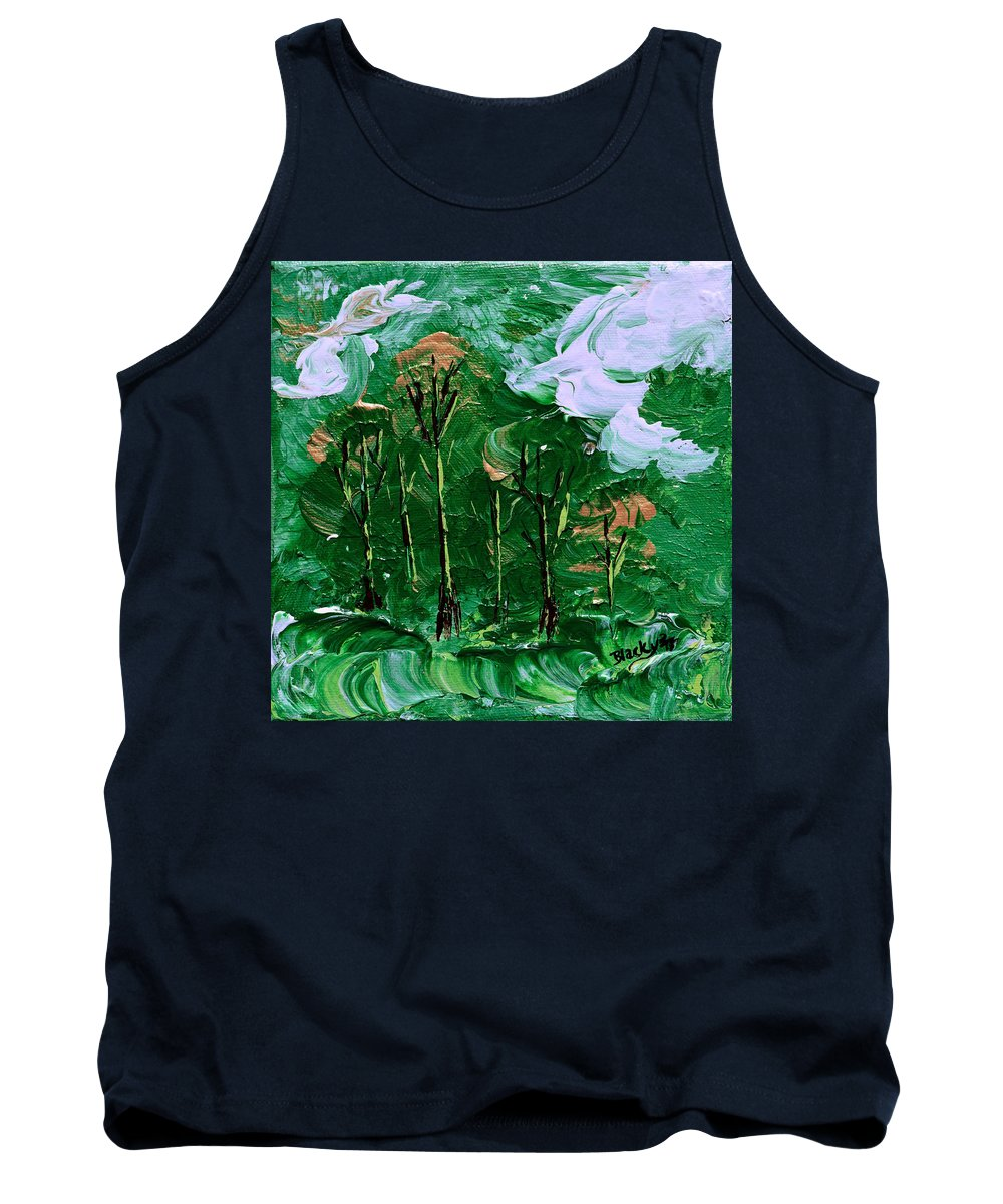 Modern Tank Top featuring the painting Winds Of Destiny by Donna Blackhall