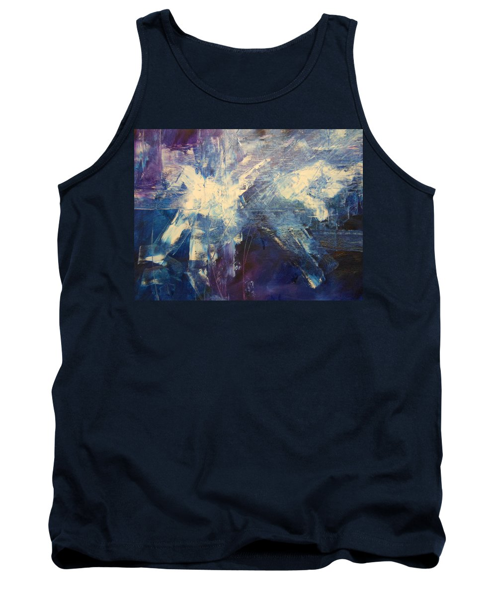 Abstract Tank Top featuring the painting Wings Of Flight by Lord Frederick Lyle Morris