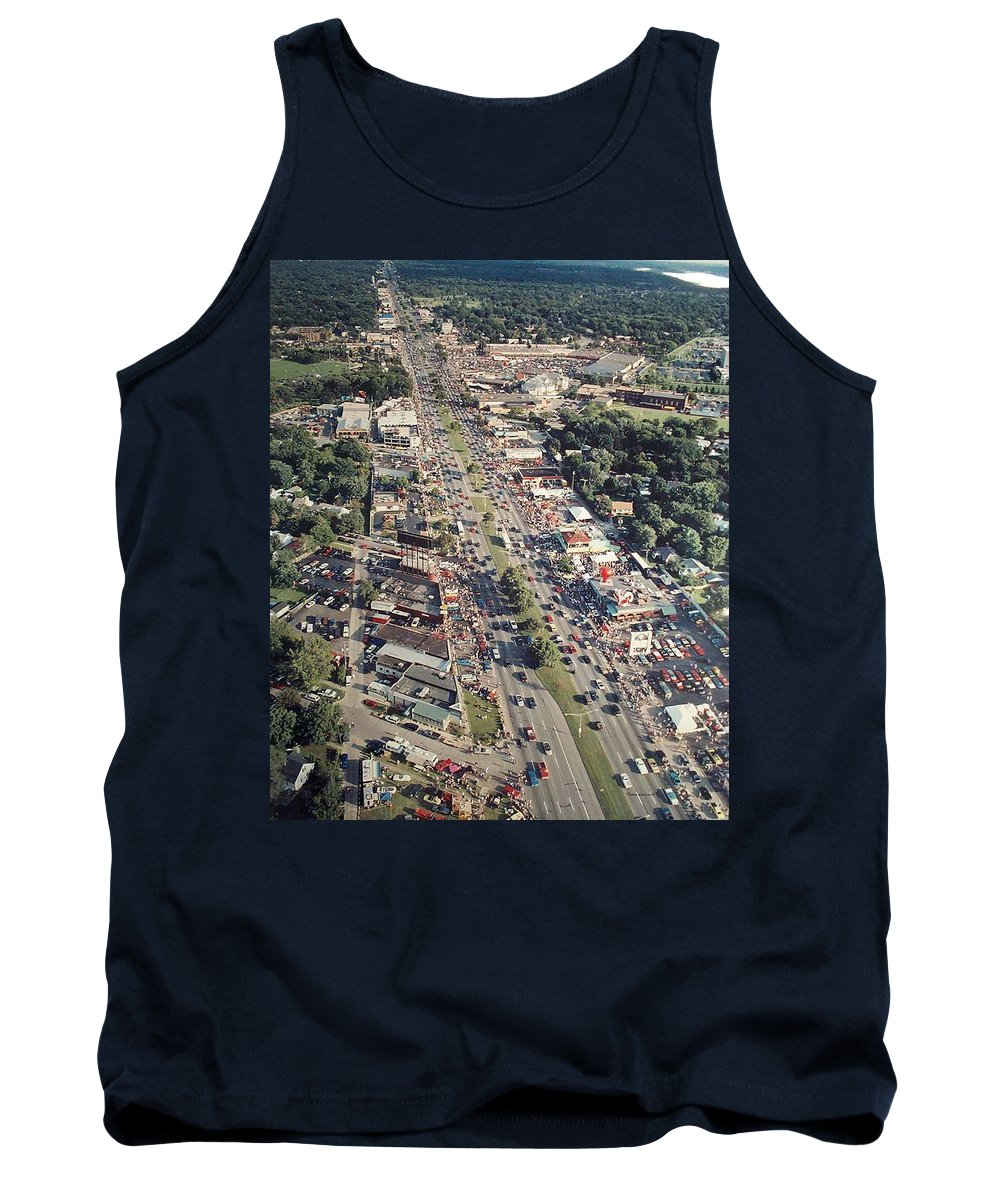 Woodward Avenue Tank Top featuring the photograph Woodward Avenue Michigan by Thomas Woolworth