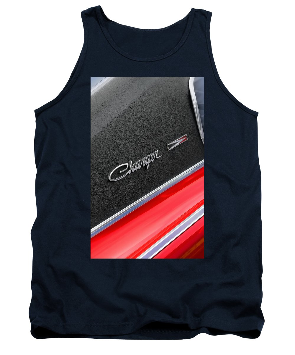Scat Tank Top featuring the photograph 1967 Dodge Charger by Gordon Dean II