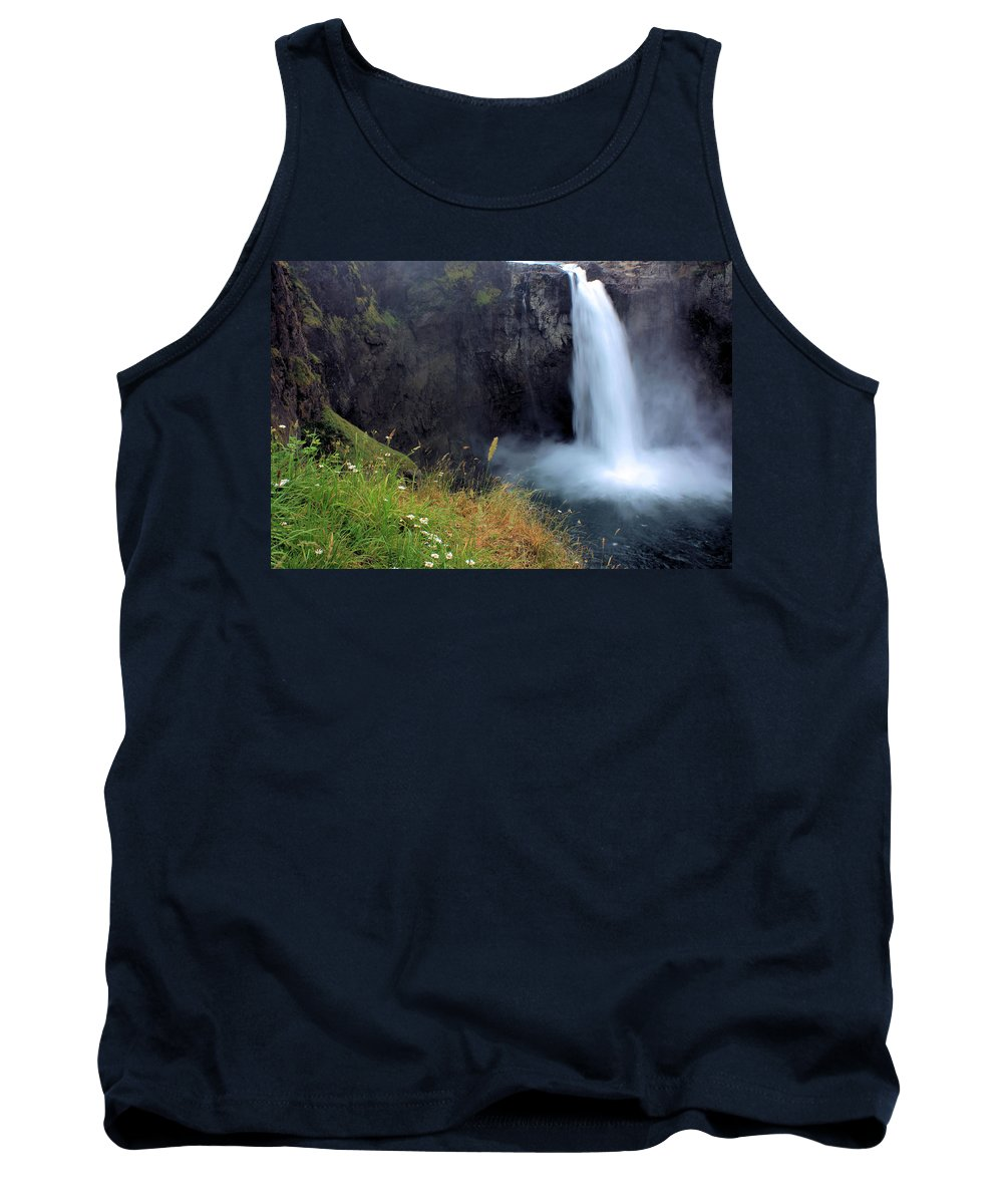 Waterfall Tank Top featuring the photograph Snoqualmie Falls by Kristin Elmquist