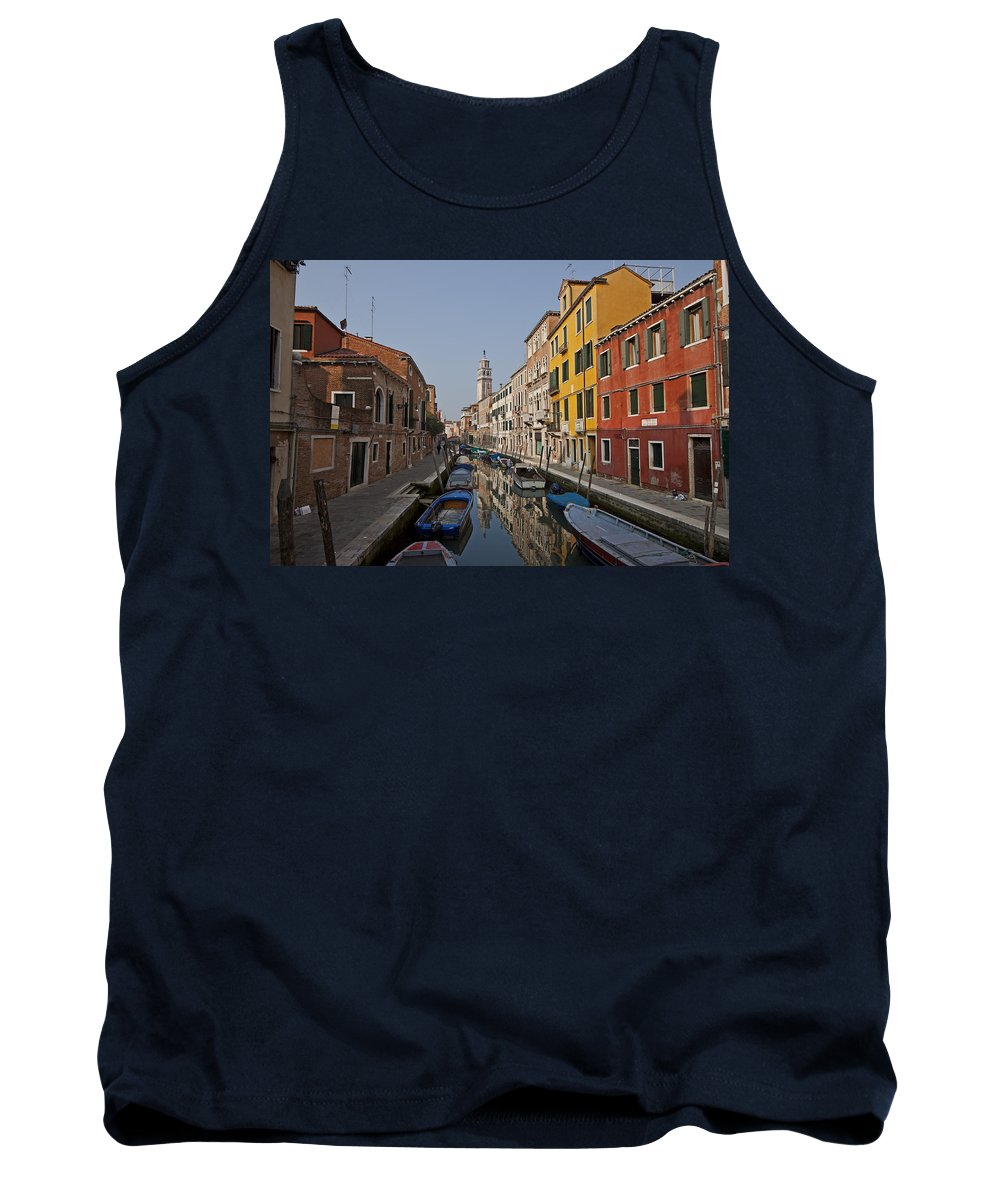 Architecture Tank Top featuring the photograph Venice - Italy by Joana Kruse