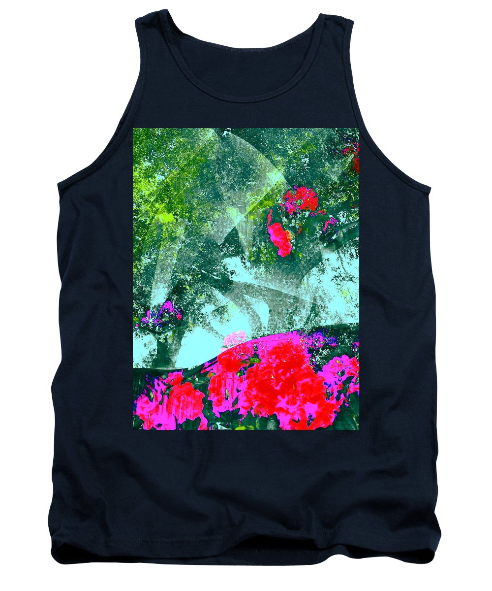 Abstract Tank Top featuring the photograph Abstract 127 by Pamela Cooper