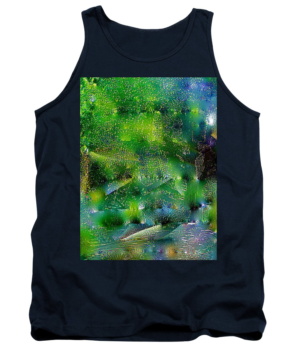 Abstract Tank Top featuring the photograph Abstract 67 by Pamela Cooper