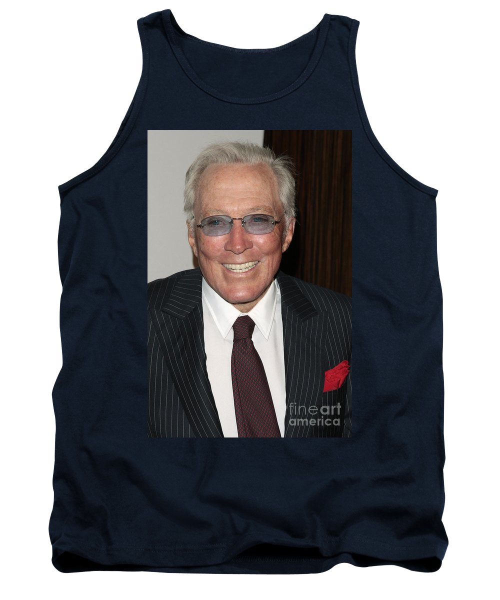 Photography Tank Top featuring the photograph Andy Williams by Nina Prommer
