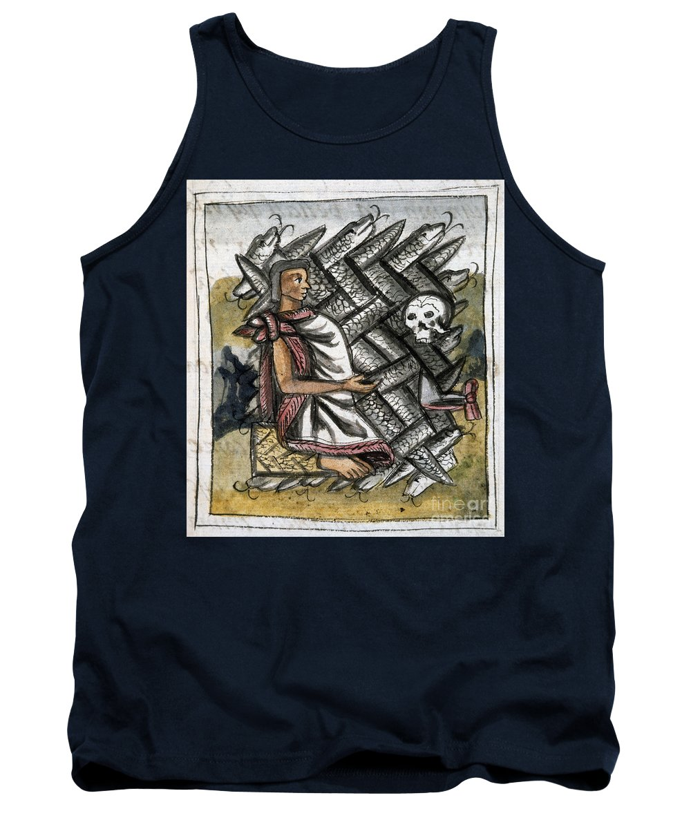 1540 Tank Top featuring the photograph Aztec: Life And Death by Granger