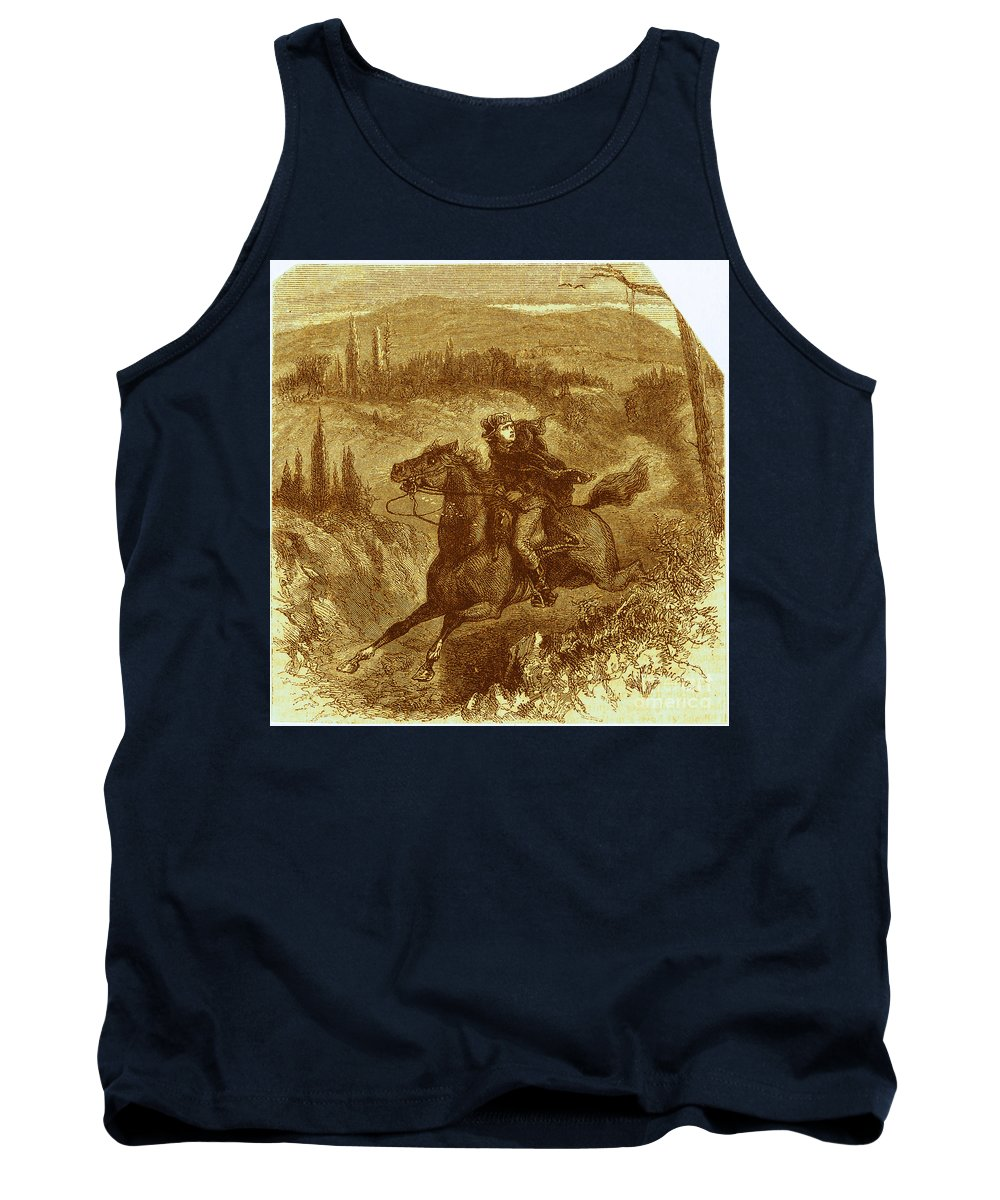 History Tank Top featuring the photograph Benedict Arnold, American Traitor by Photo Researchers