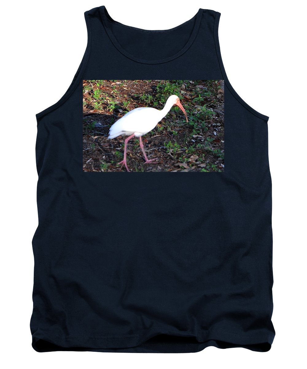 Ibis Tank Top featuring the photograph C-ya.... by Mickey Krause