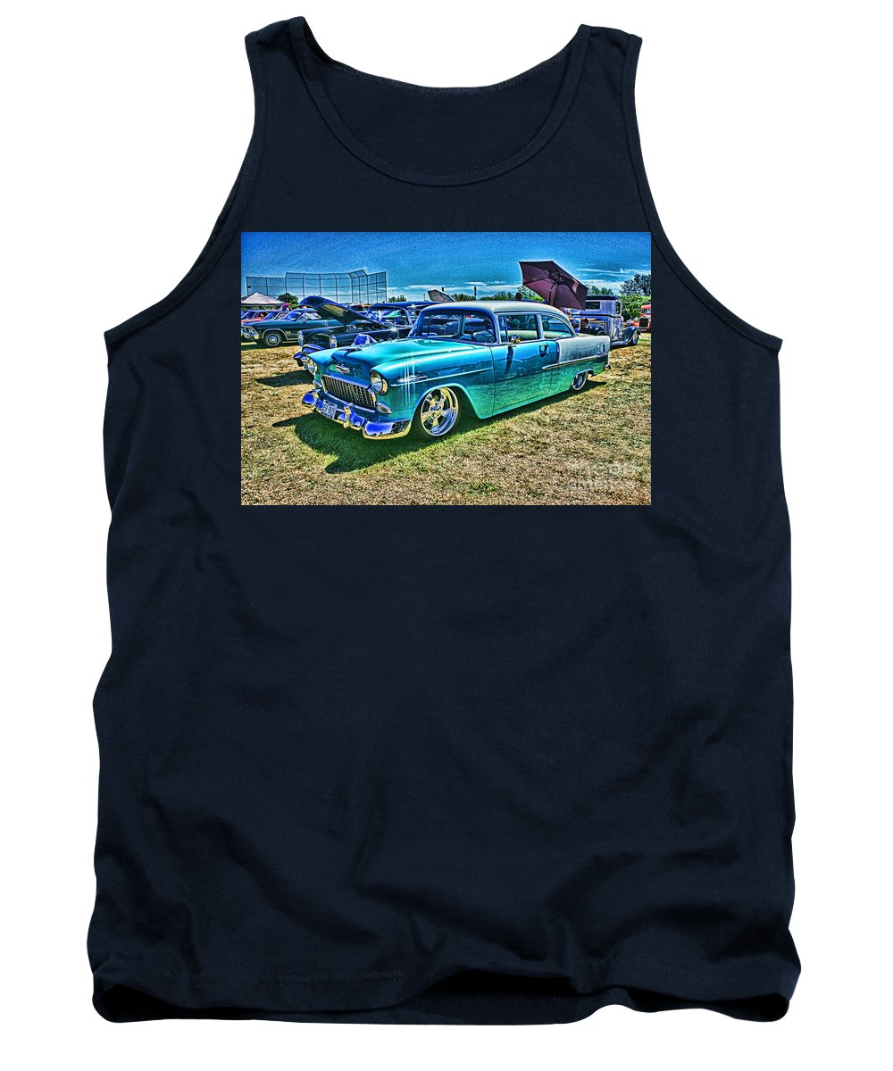 Cars Tank Top featuring the photograph Cado0736a-12 by Randy Harris