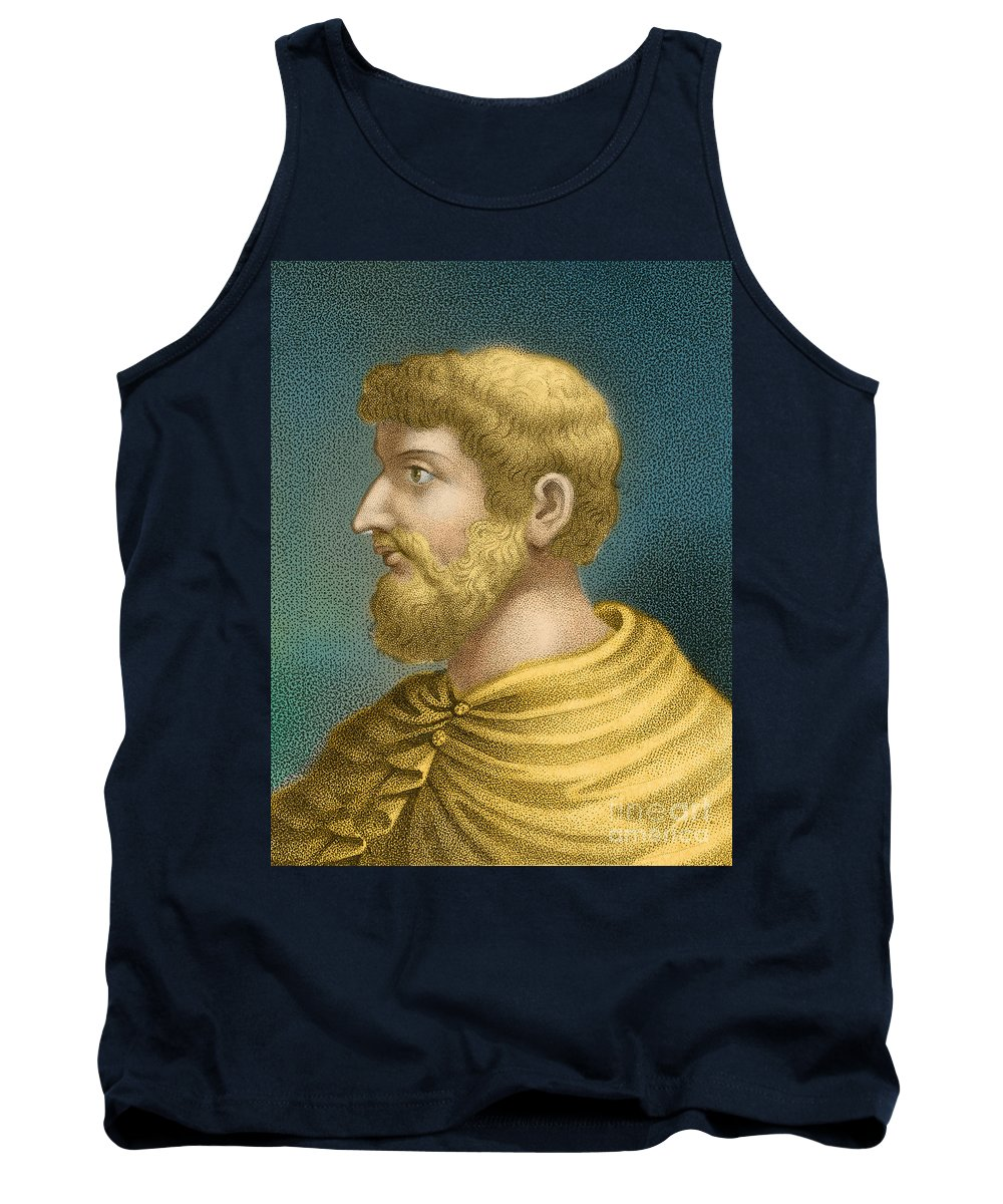 Callimachus Tank Top featuring the photograph Callimachus, Greek-libyan Poet by Photo Researchers