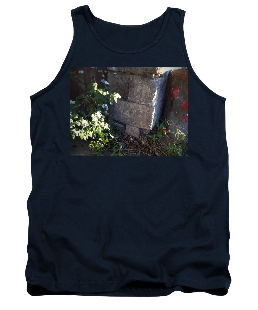 City Tank Top featuring the photograph City Bloom by Tim Nyberg