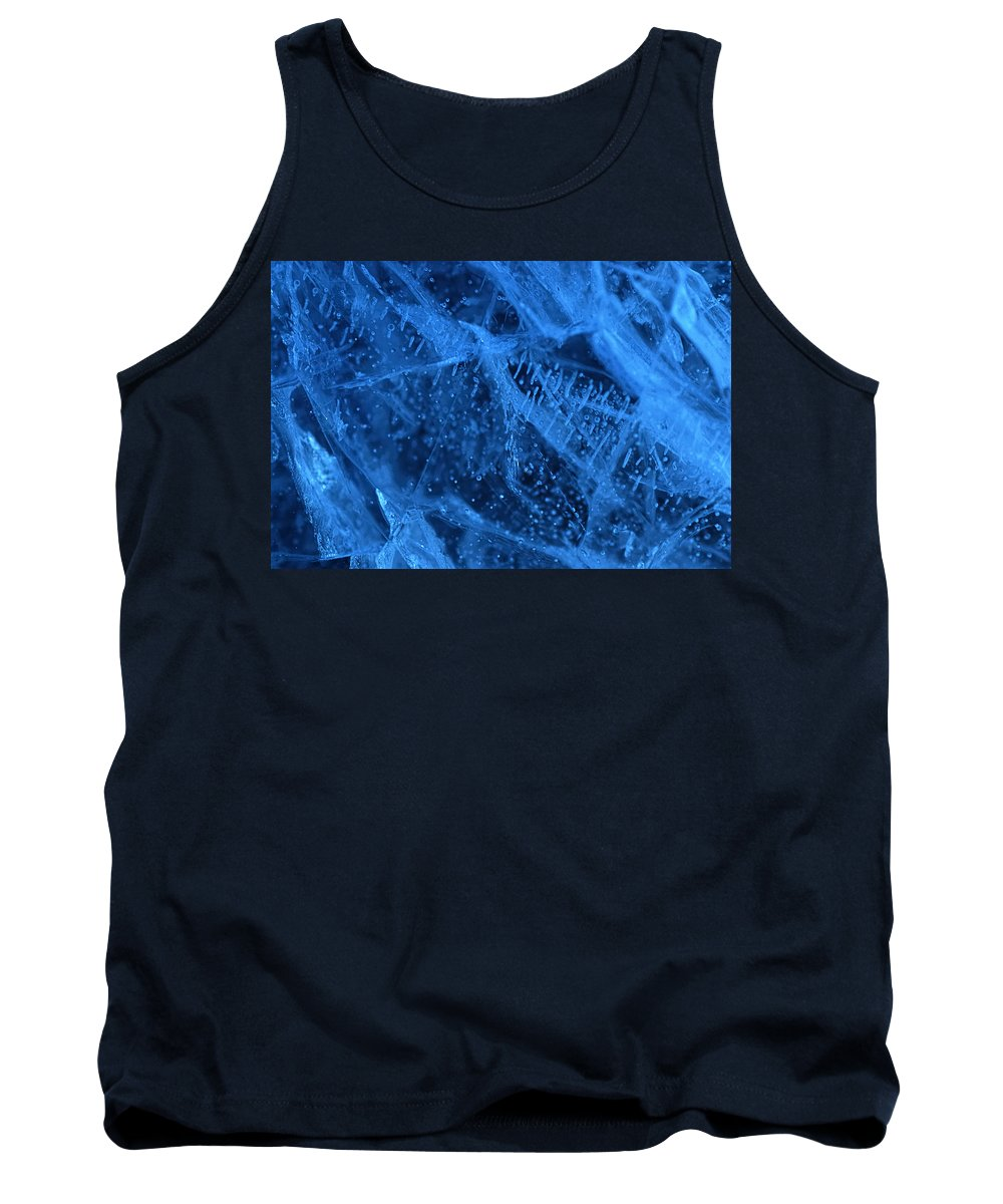 Ice Tank Top featuring the photograph Cold As Ice by Susan Capuano