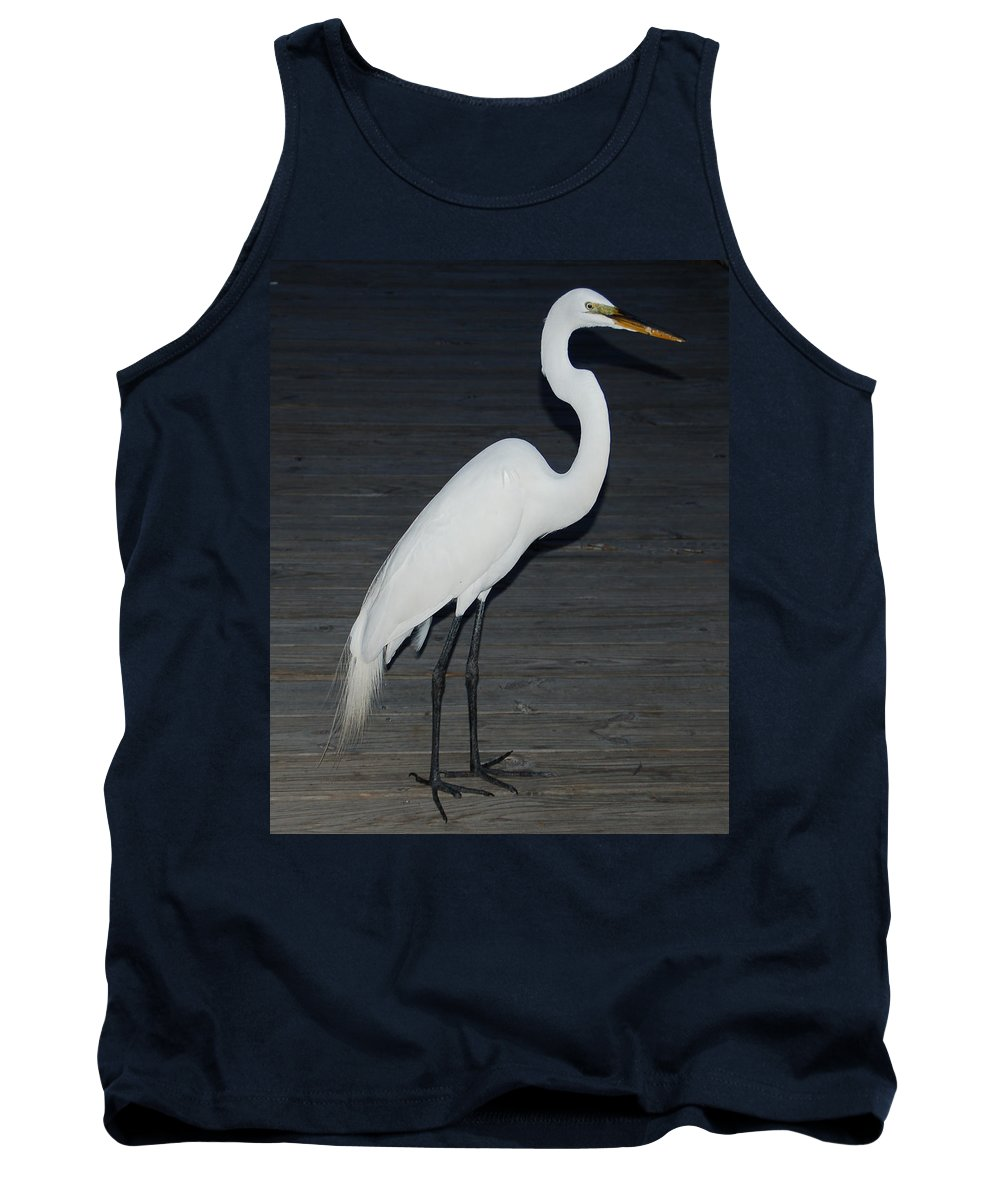 Egret Tank Top featuring the photograph Snowy Egret by Aimee L Maher ALM GALLERY
