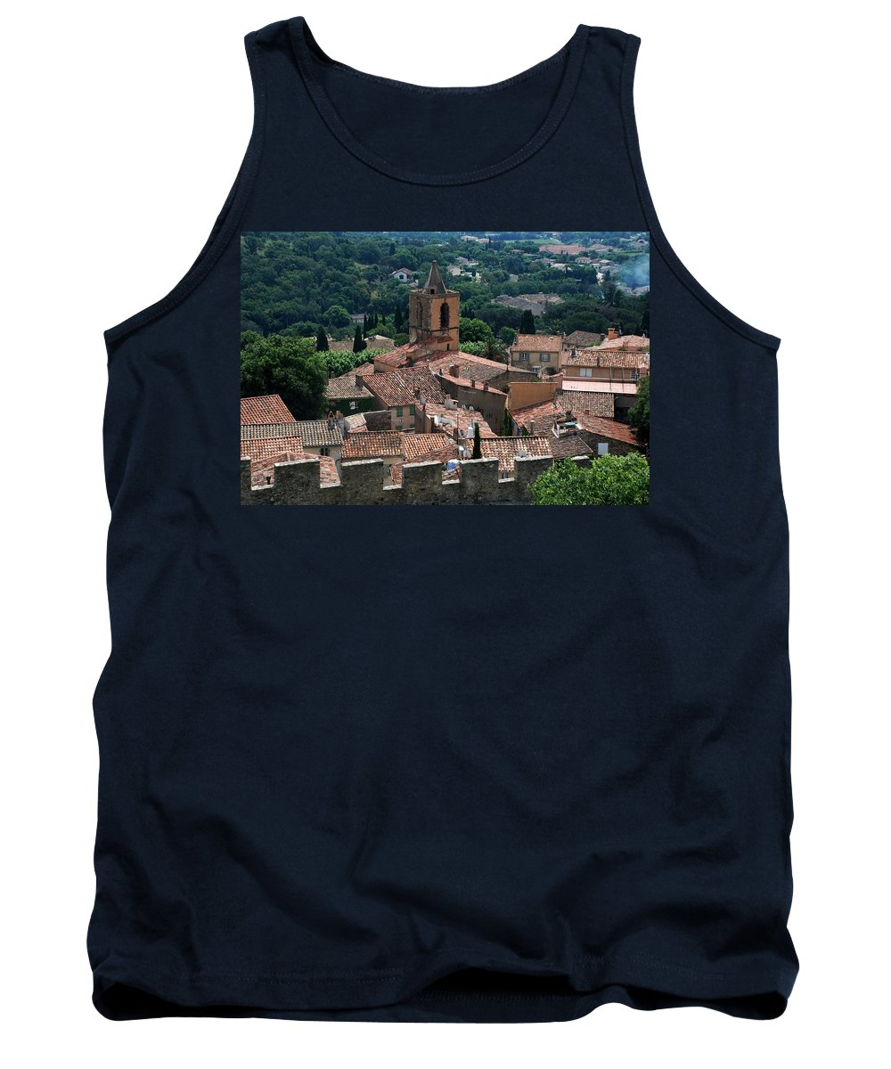 Grimaud Tank Top featuring the photograph Grimaud by Dany Lison
