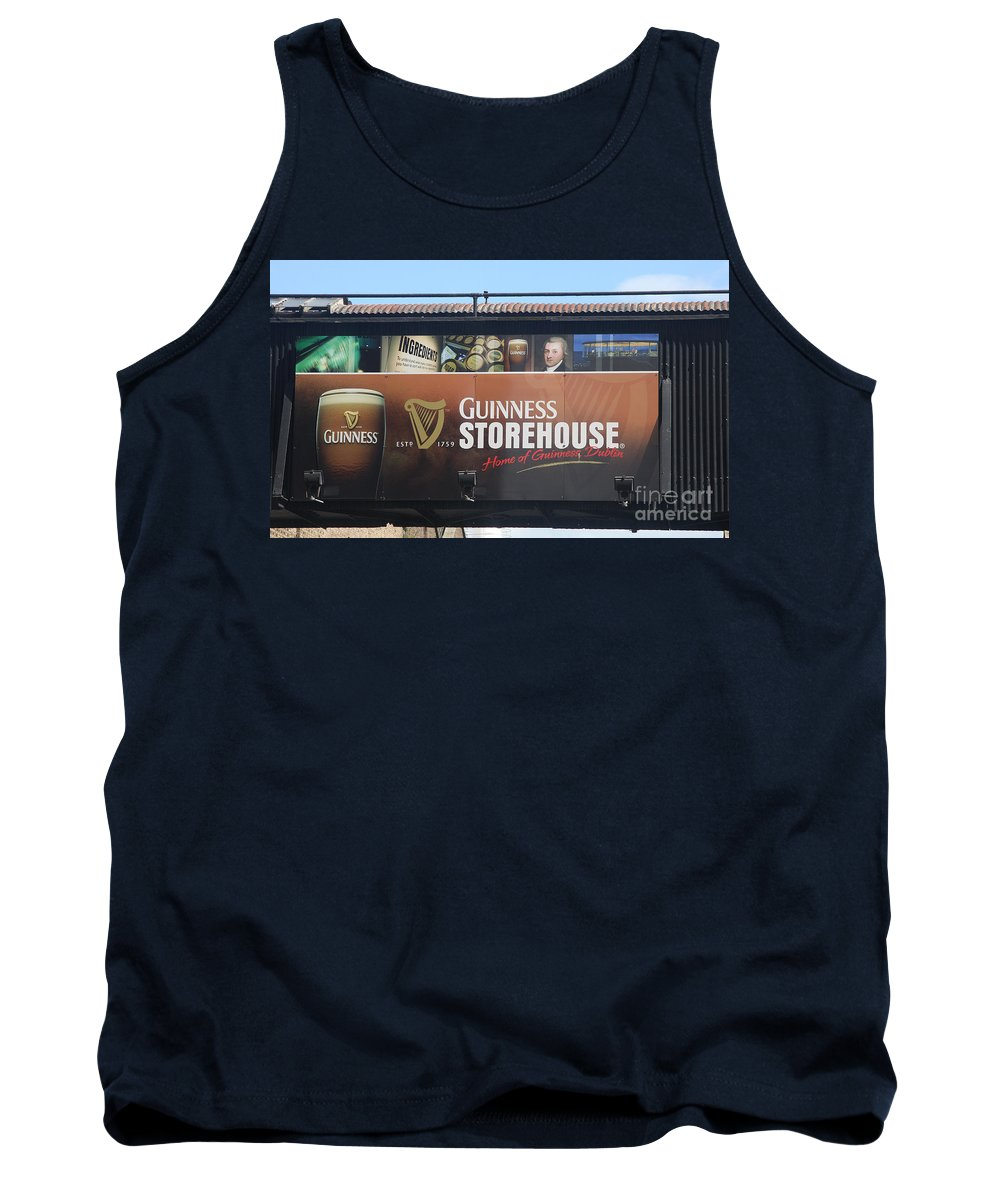 Guinness Ad Tank Top featuring the photograph Guinness Storehouse Dublin - Ireland by Christiane Schulze Art And Photography